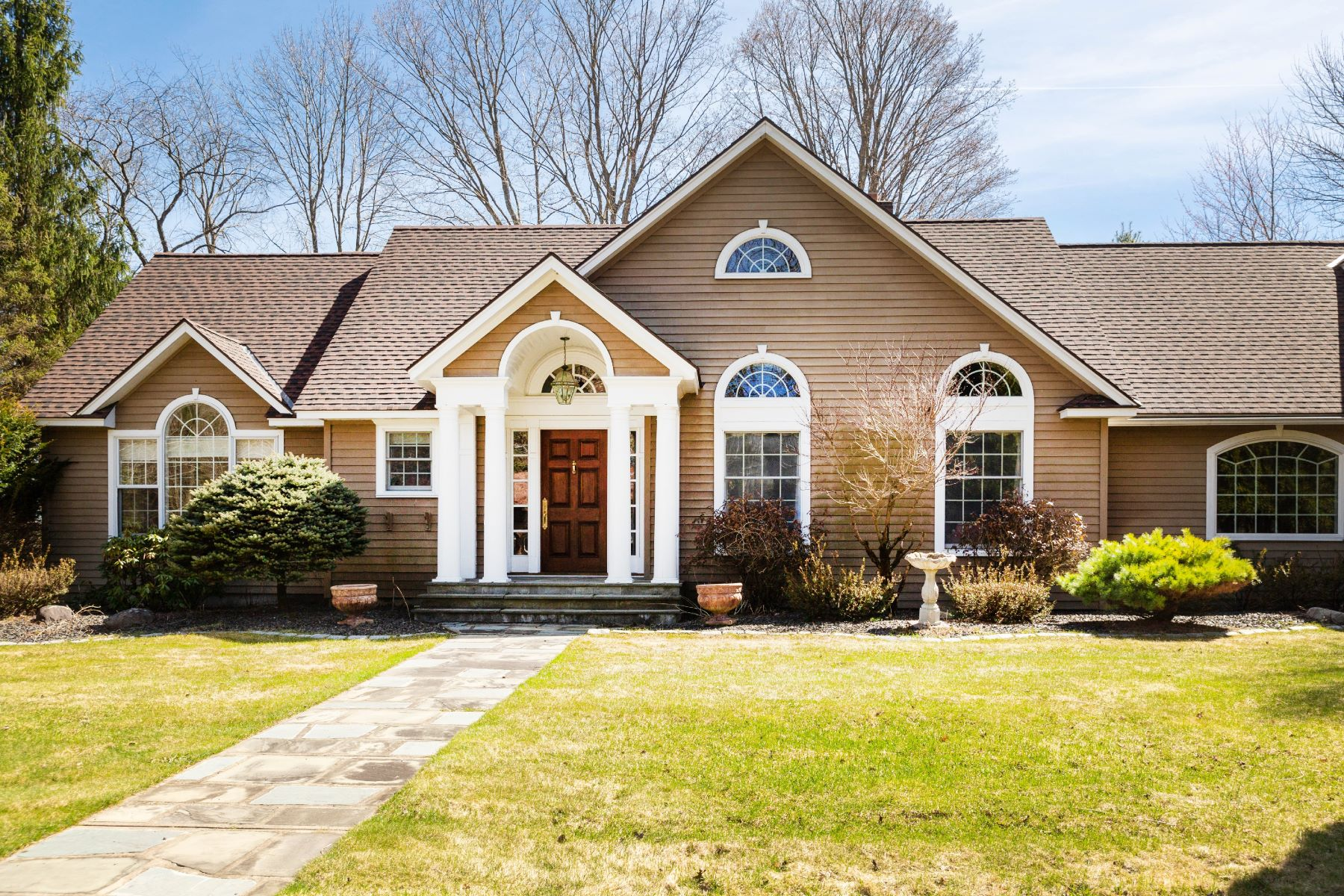 Single Family Homes for Sale at Executive Home in Upstate NY 33 Albea Dr Hagaman, New York 12086 United States