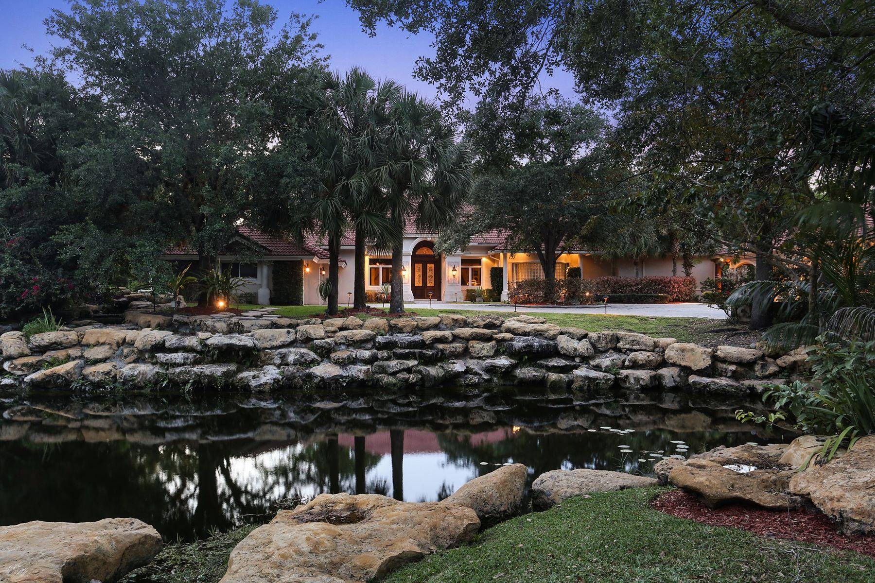 獨棟家庭住宅 為 出售 在 6401 Rodeo Drive Southwest Ranches, 佛羅里達州, 33330 美國