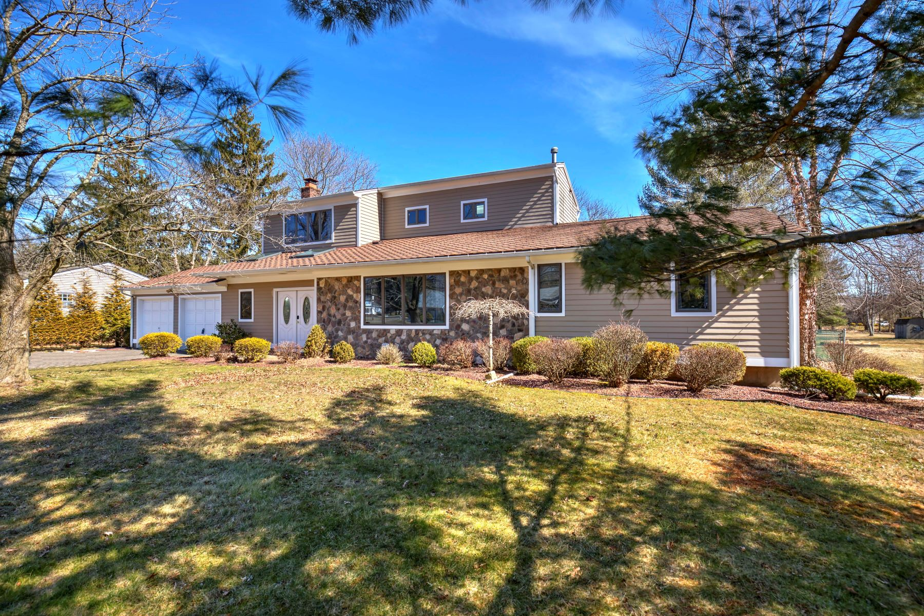 Single Family Homes for Sale at Custom Raised Ranch 1006 Papen Road Bridgewater, New Jersey 08807 United States