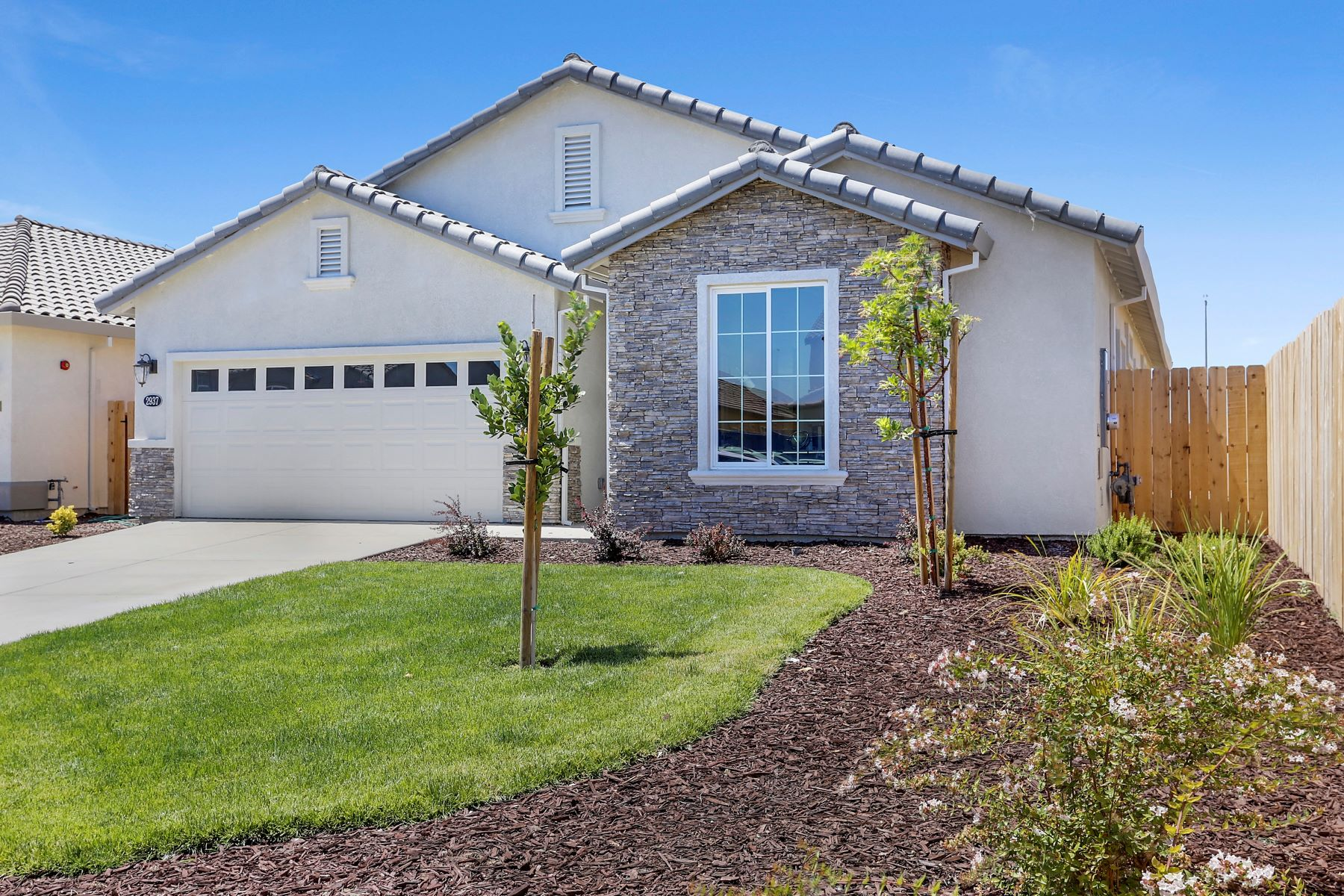 Single Family Homes for Sale at New Construction On The Street Of Dreams 1774 Old Oak Drive Stockton, California 95206 United States