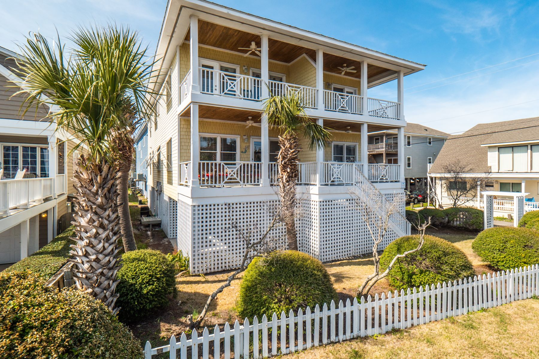 Single Family Home for Active at Completely Remodeled Exceptional Beach House 3 Meier Street B Wrightsville Beach, North Carolina 28480 United States