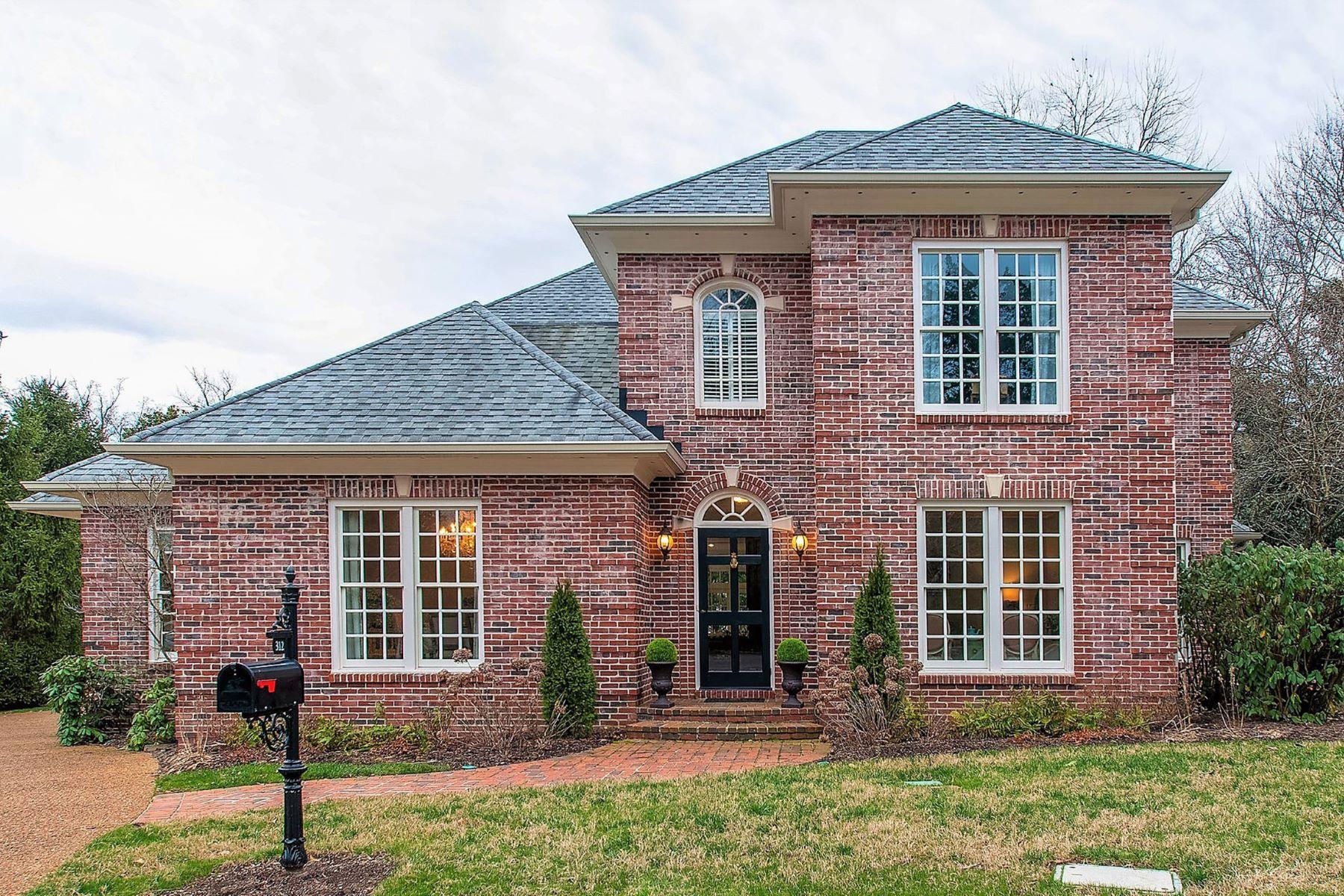 Single Family Homes 为 销售 在 312 Allen Pl 那什维尔, 田纳西州 37205 美国