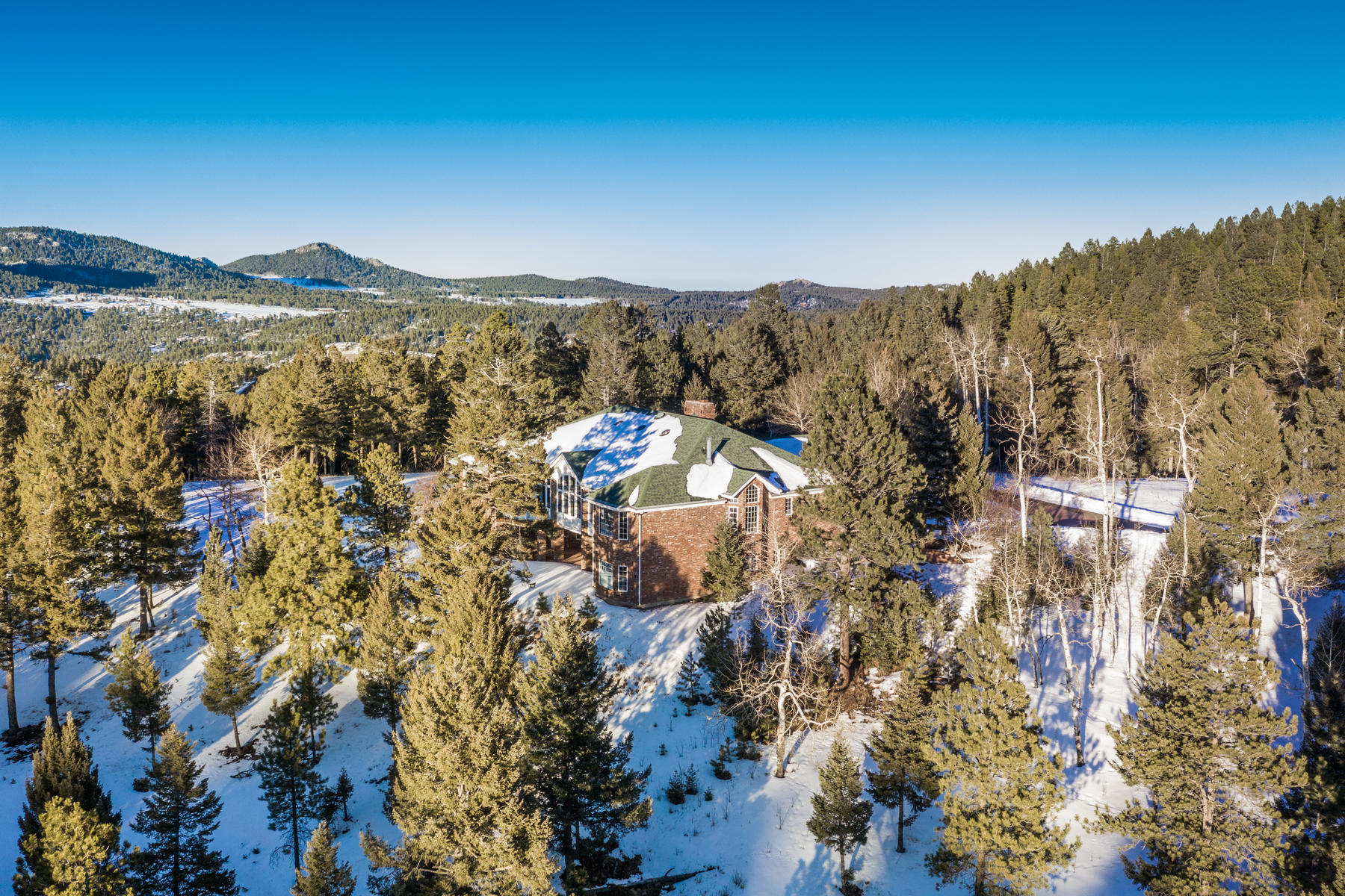 Land for Sale at Ideally situated on 338± pristine acres of land! 26271 Richmond Hill Rd Conifer, Colorado 80433 United States