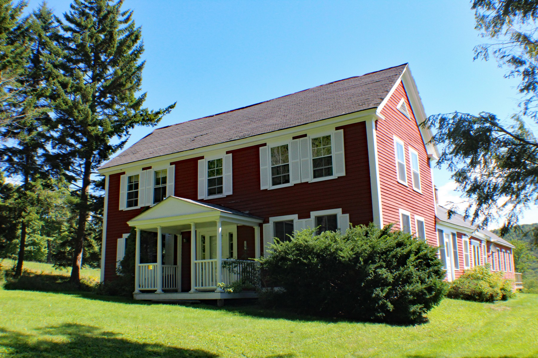 single family homes for Sale at Classic Colonial on 73 Beautiful Acres..with Views 6706 Windham Hill Rd Windham, Vermont 05359 United States