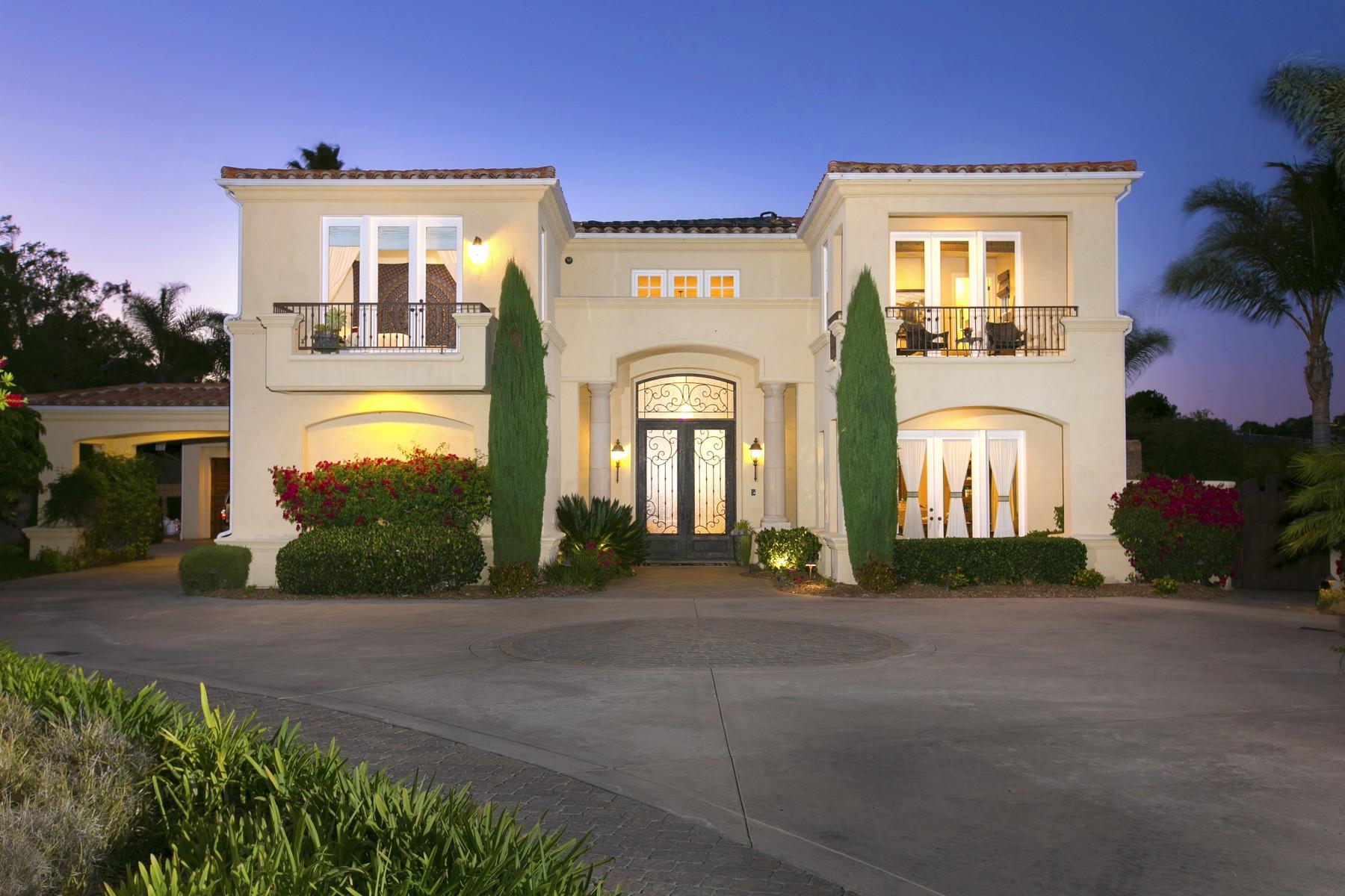 Vivienda unifamiliar por un Venta en 3376 Calle Tres Vistas Encinitas, California 92024 Estados Unidos