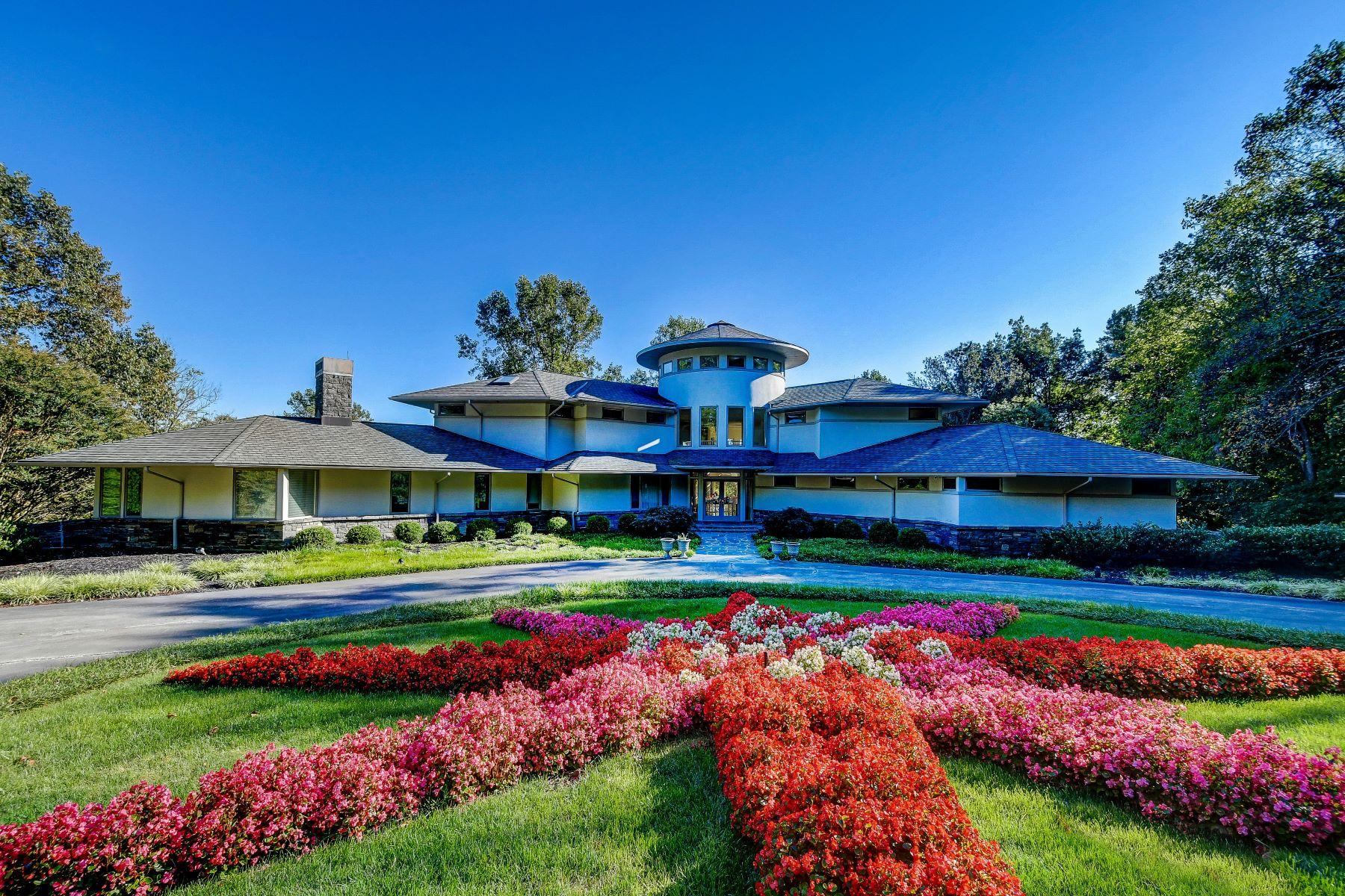 Single Family Homes por un Venta en Contemporay Architectural Masterpiece in Glencoe Oaks 1102 Lower Glencoe Road Sparks, Maryland 21152 Estados Unidos
