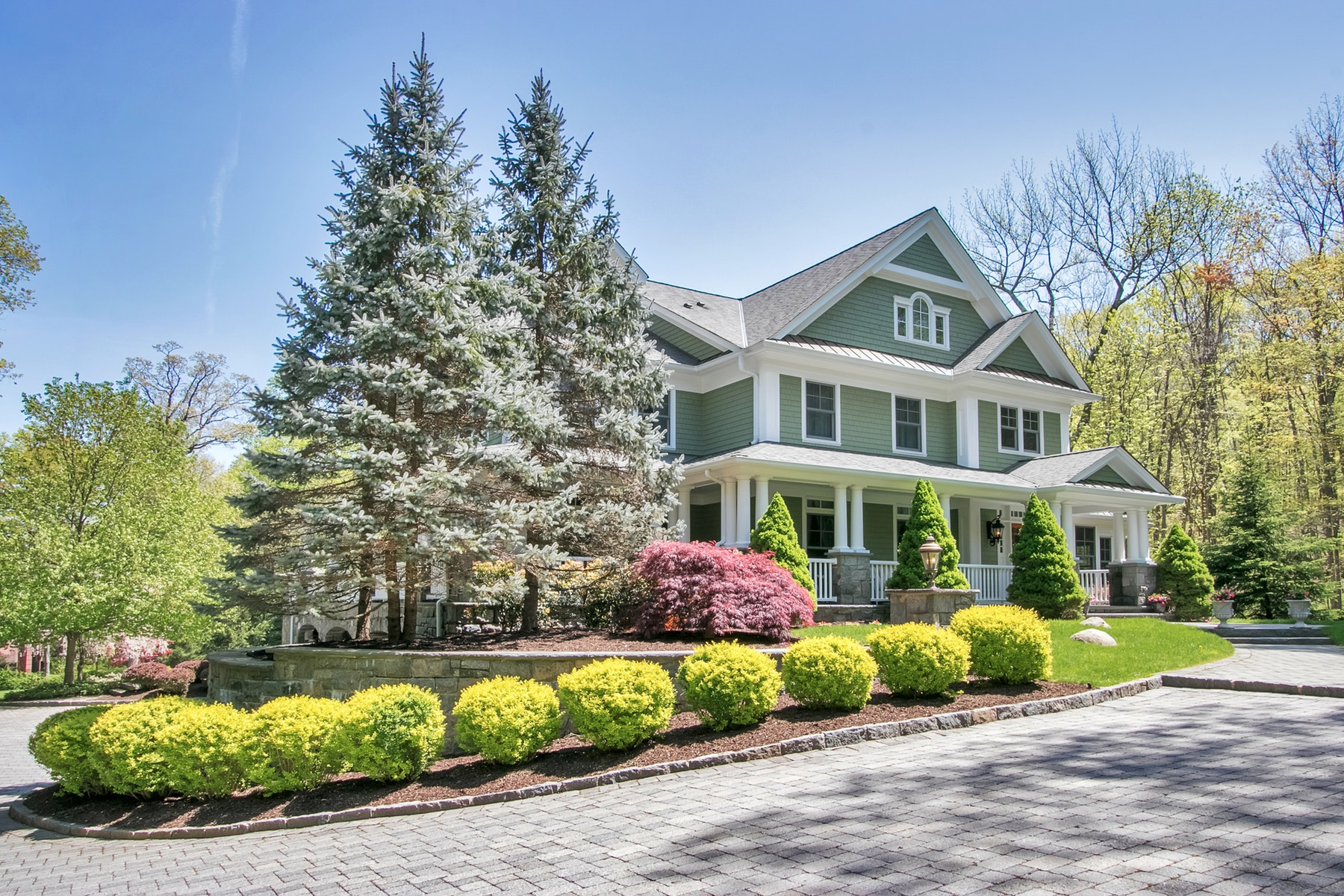 Single Family Homes for Sale at Luxury and Architectural Perfection 5 Pine Hill Road Tuxedo Park, New York 10987 United States
