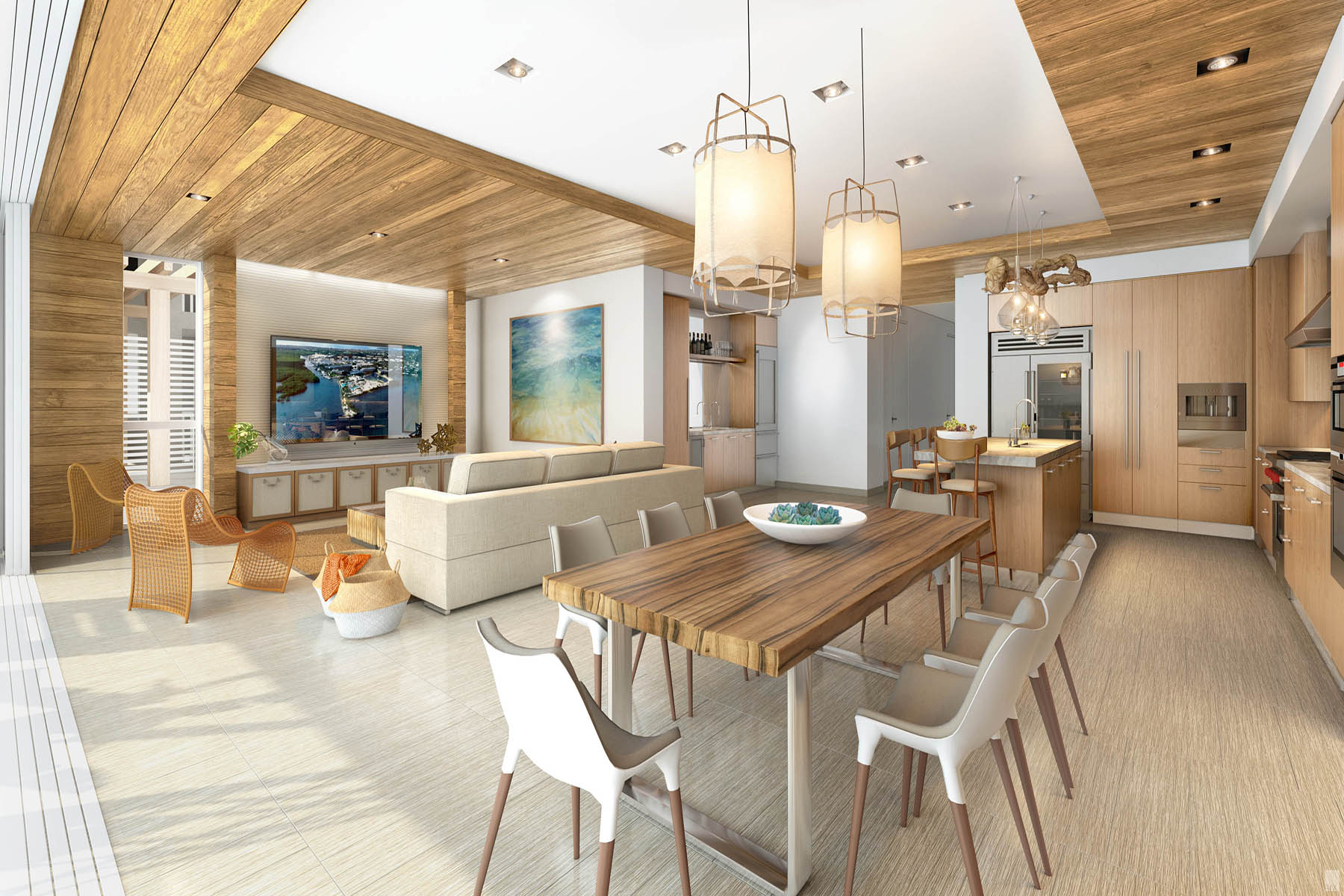 Kat Mülkiyeti için Satış at New Construction Condominium at Ocean Reef Club 121 Beach Road #104, Ocean Reef Community, Key Largo, Florida, 33037 Amerika Birleşik Devletleri