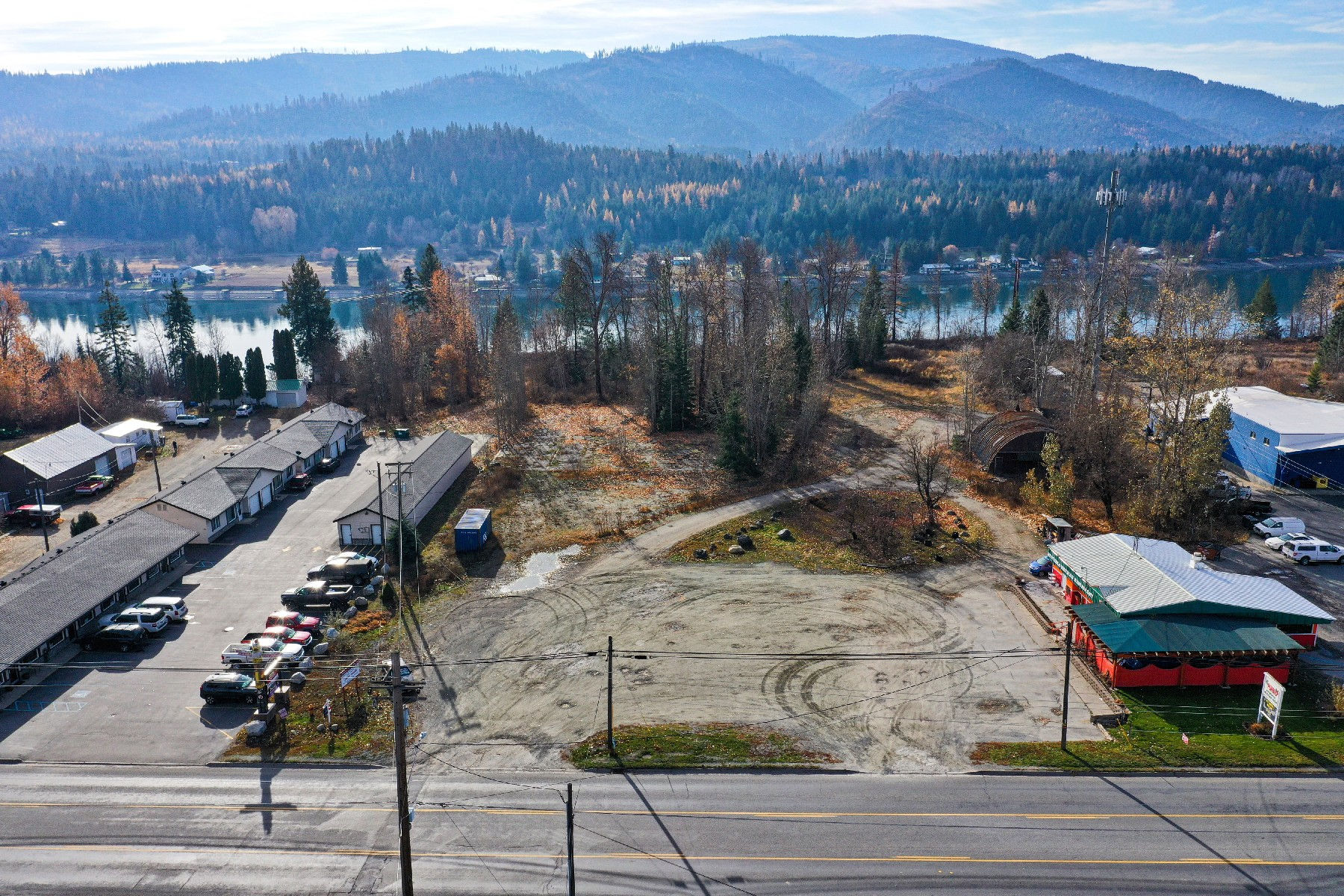 Land for Sale at Commercial Acreage NNA Highway 2 Priest River, Idaho 83856 United States
