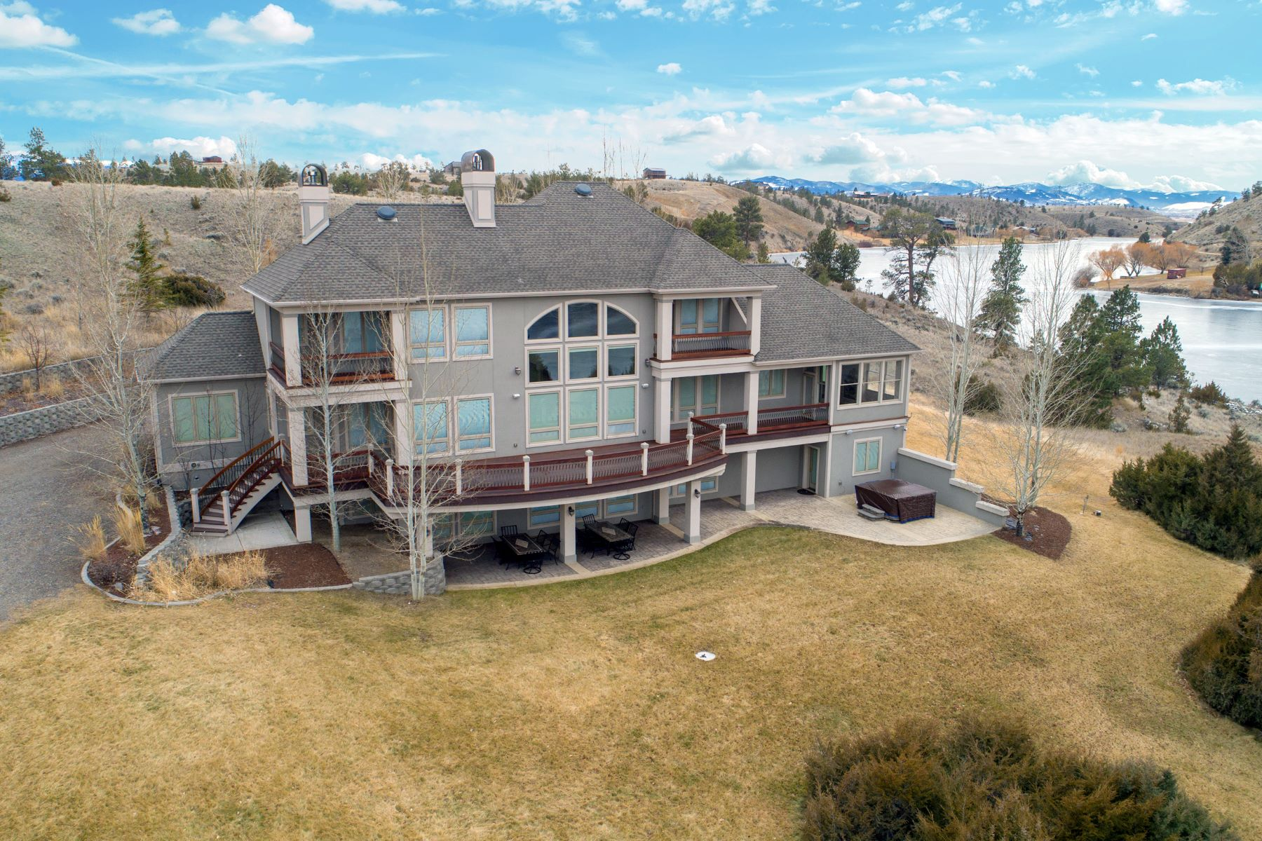 Single Family Homes for Sale at 4163 St Clair Road Helena, Montana 59602 United States