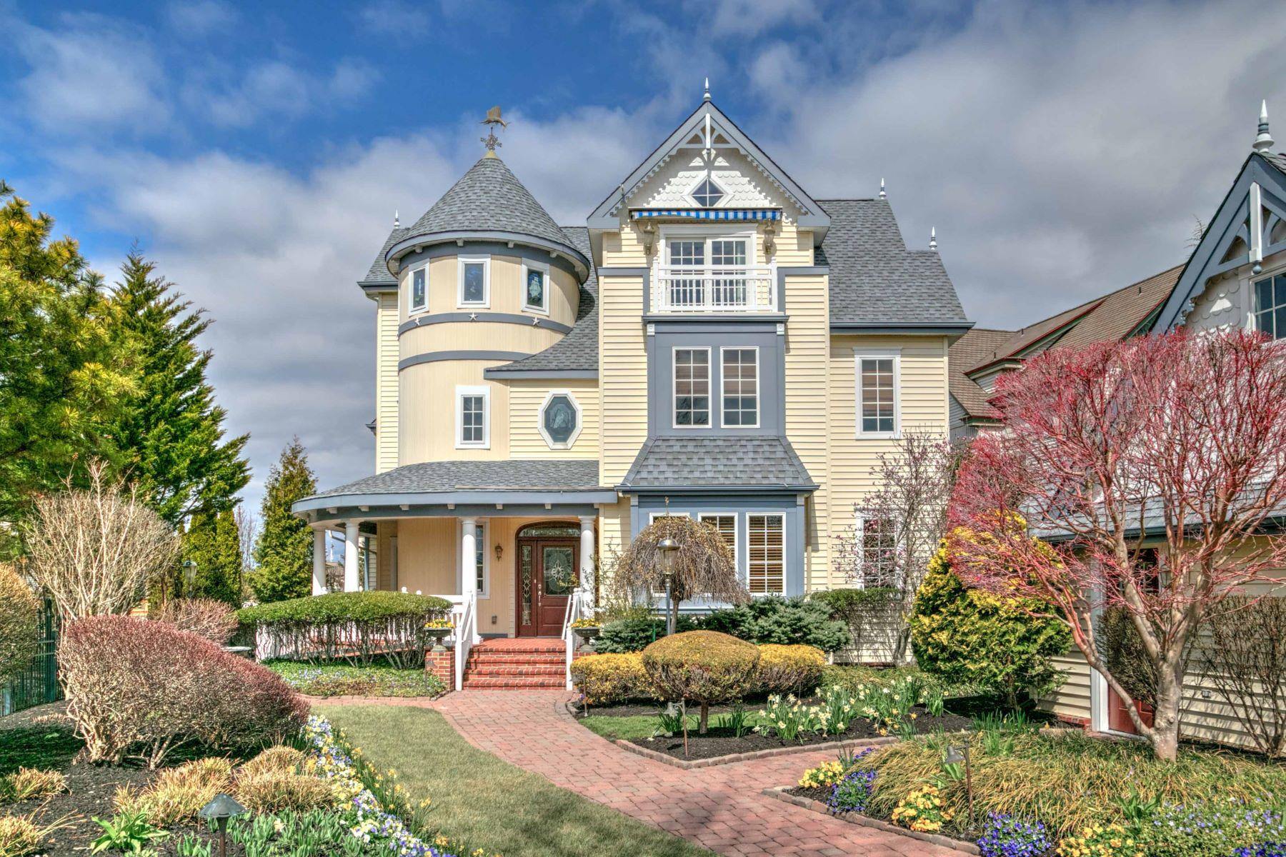 Maison unifamiliale pour l Vente à 21 Harbor Cove Cape May, New Jersey 08204 États-Unis