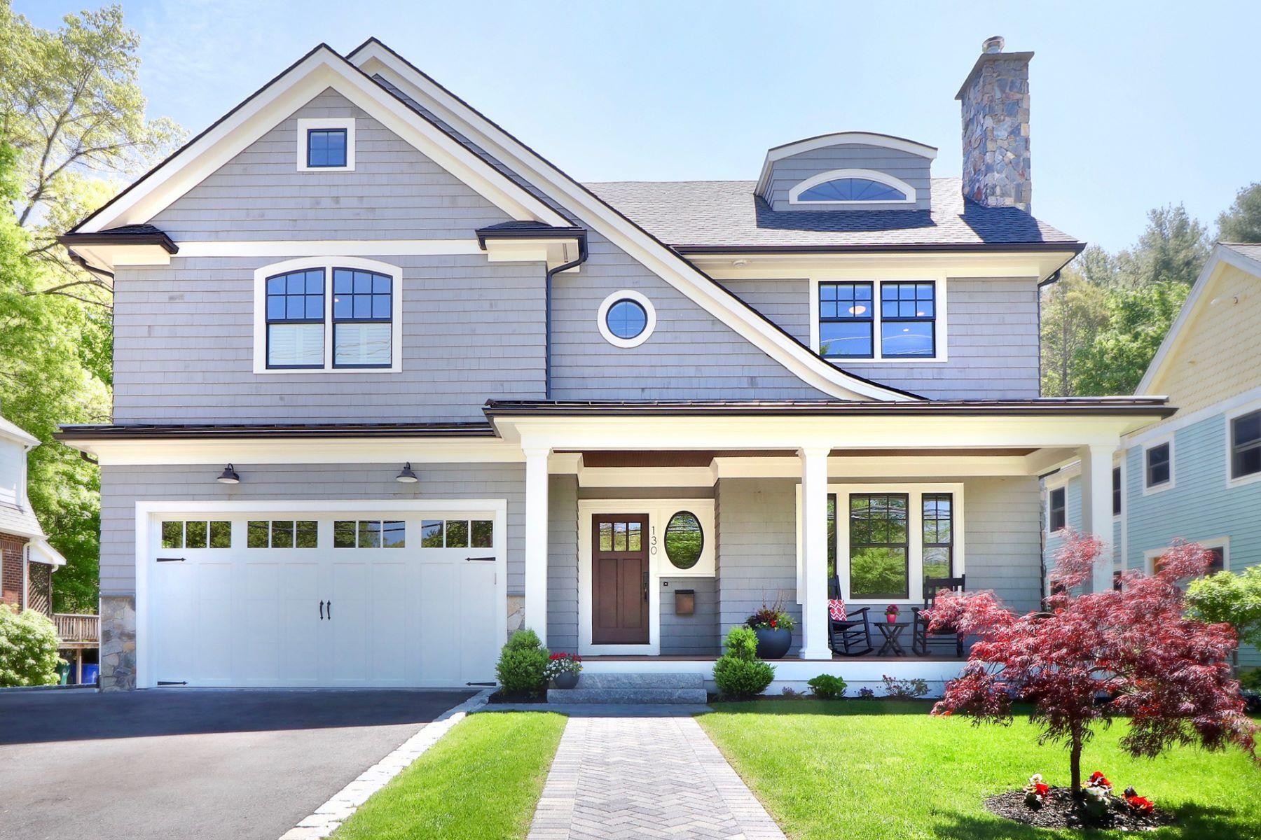 Maison unifamiliale pour l Vente à 130 Beethoven Ave, Newton Newton, Massachusetts 02468 États-Unis
