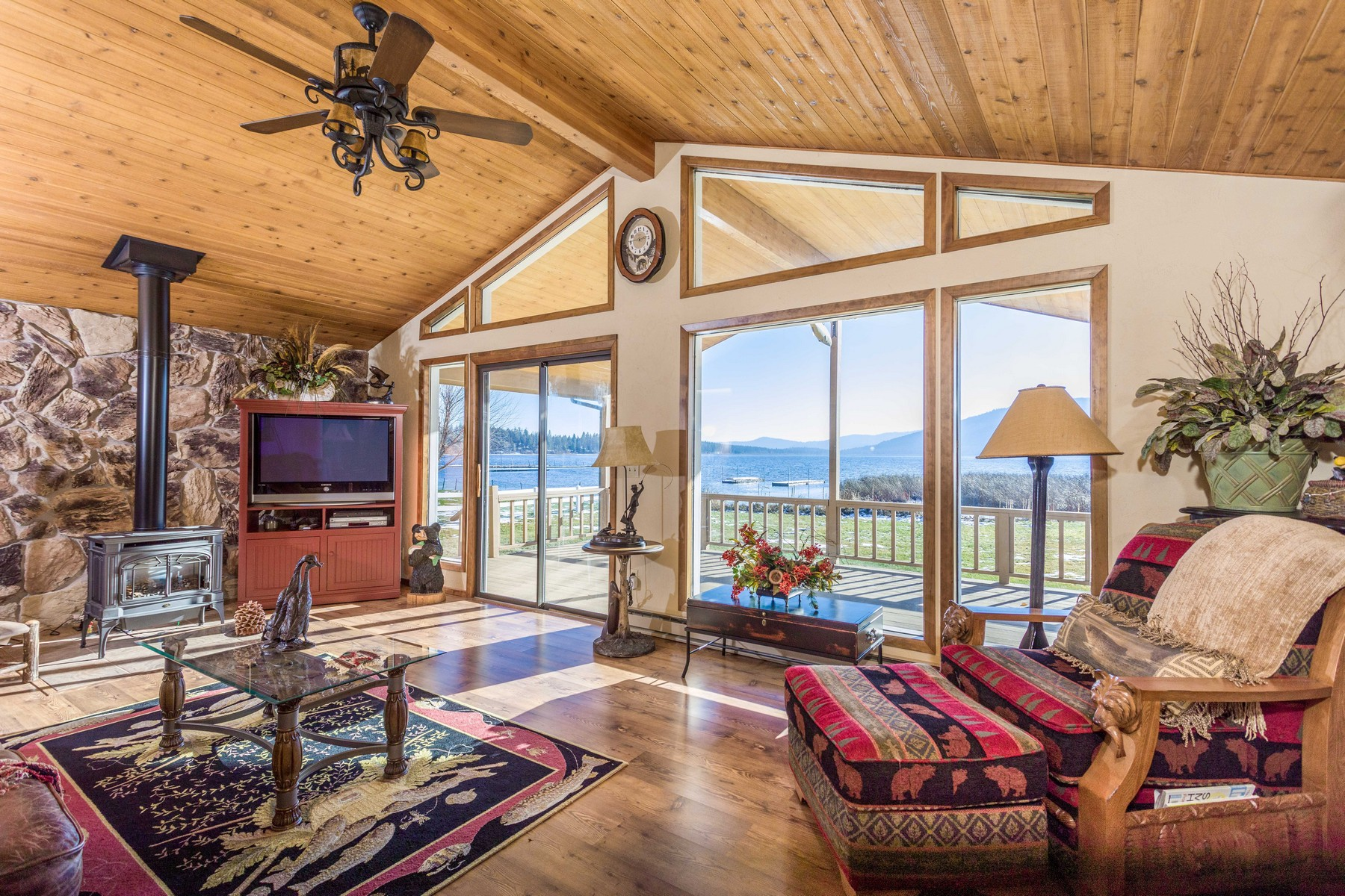 Single Family Homes for Sale at 52231 Lake Mary Ronan Road Proctor, Montana 59929 United States