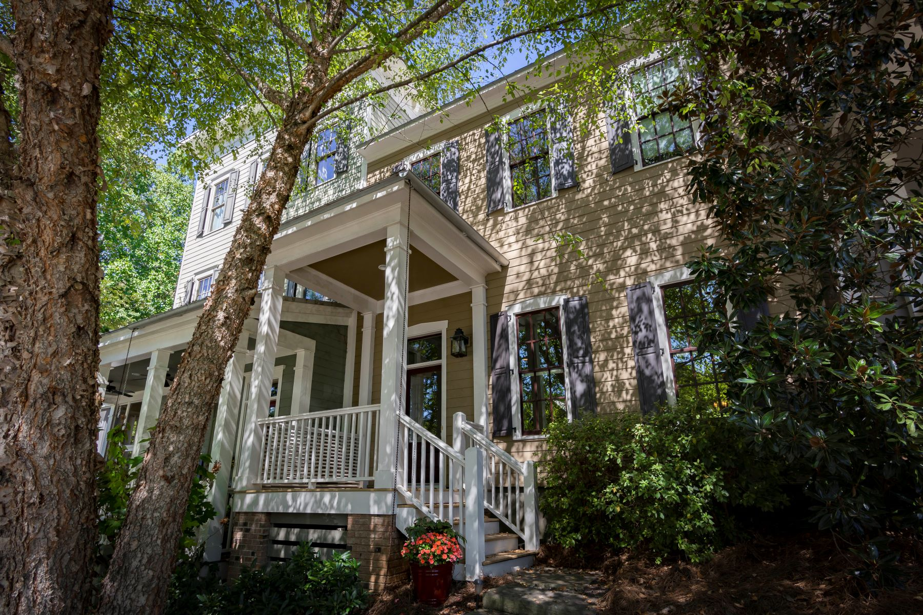 townhouses for Sale at Charming Townhouse With Master On Main In Serenbe Community 10671 Serenbe Lane Chattahoochee Hills, Georgia 30268 United States