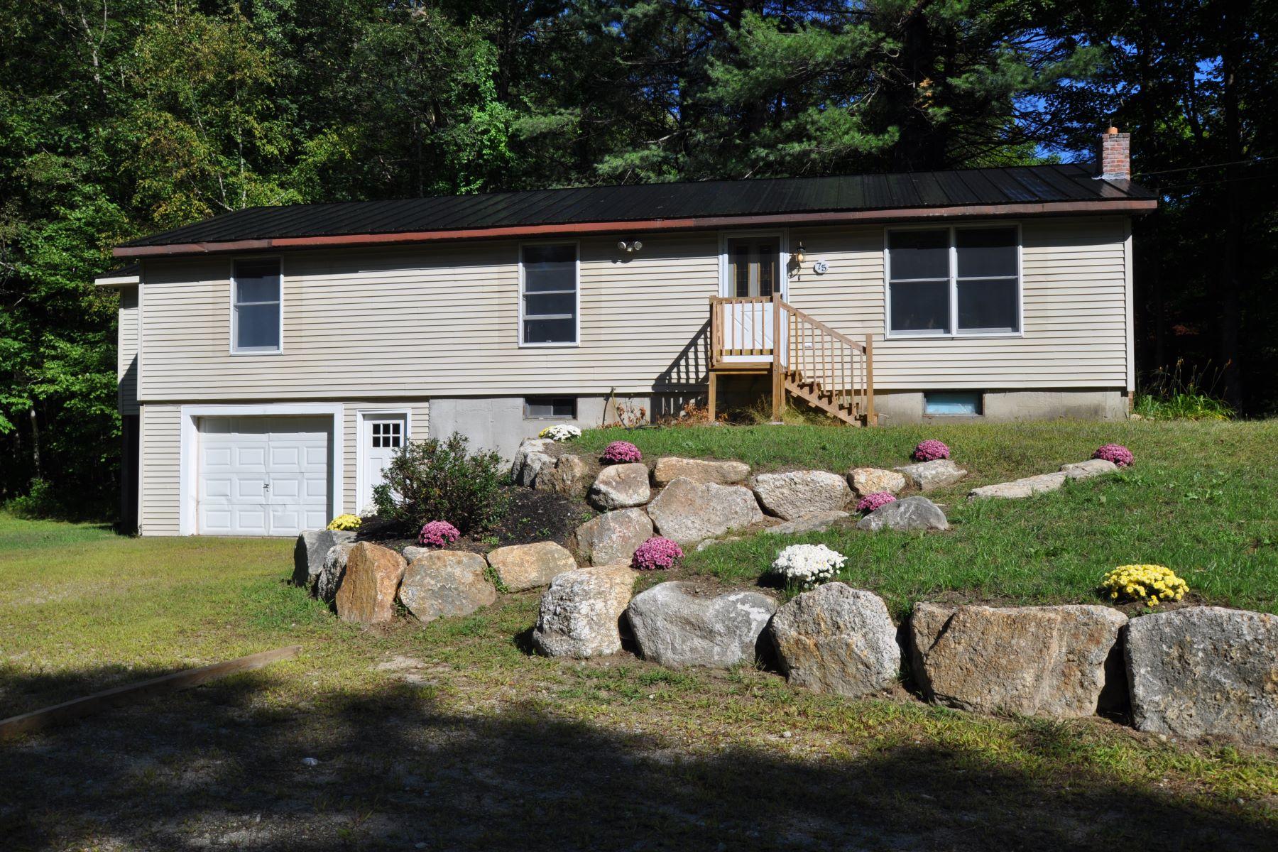 Single Family Homes 为 销售 在 75 Foothills Road, Sutton 75 Foothills Rd 萨顿, 新罕布什尔州 03273 美国