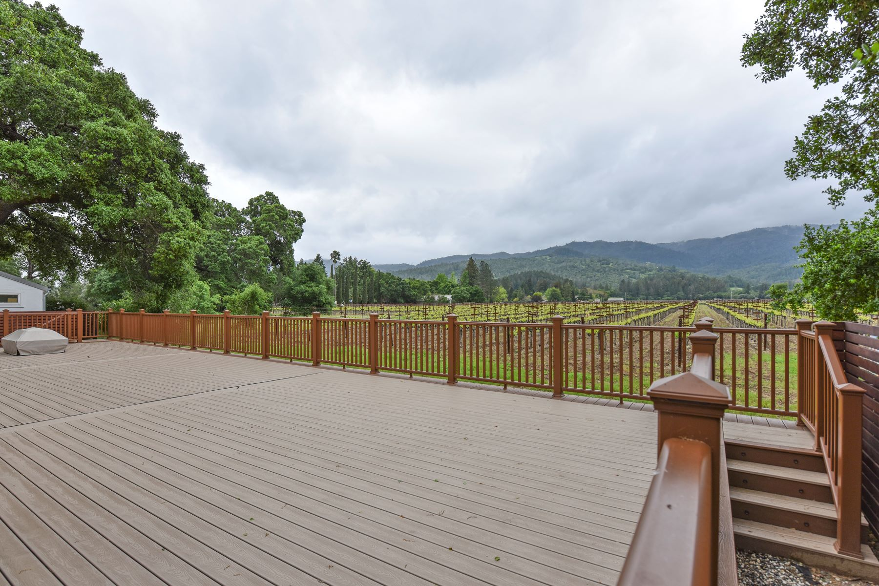 Single Family Home for Sale at A Refined Craftsman Home That Commands Vineyard and Mountain Views 109 Dahlia Street St. Helena, California, 94574 United States