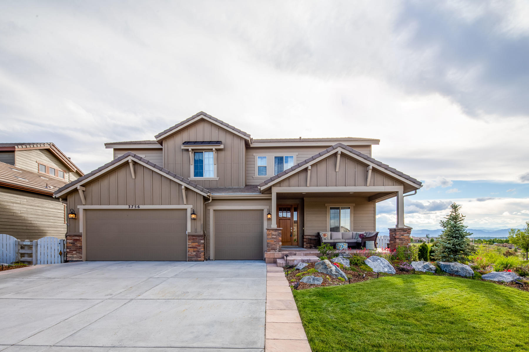 Single Family Homes for Sale at Surrounded by Spectacular Mountain & Lake Views 3756 Yale Drive Broomfield, Colorado 80023 United States
