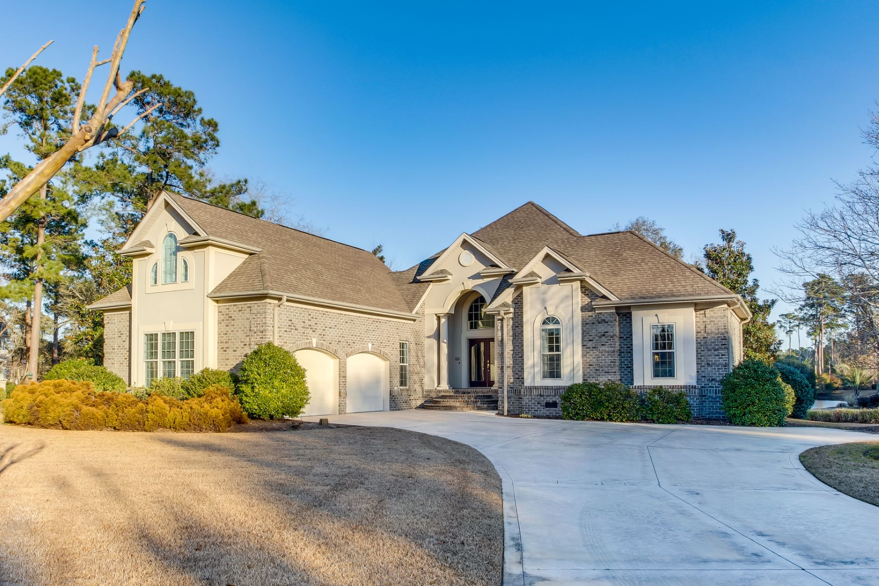 Single Family Homes for Active at Rare Custom Built Home with Waterviews 569 Gladstone Circle SW Ocean Isle Beach, North Carolina 28469 United States