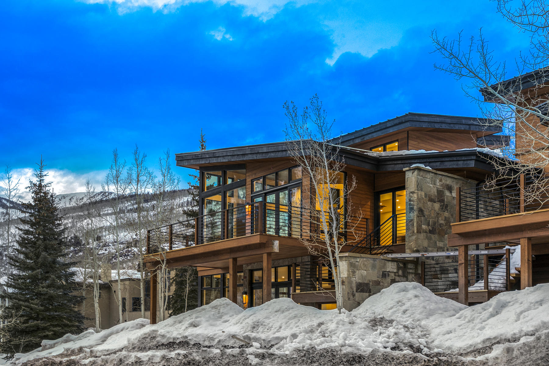 Duplex for Active at The future of East Vail architecture and design has arrived! 4271 Columbine Drive Vail, Colorado 81657 United States