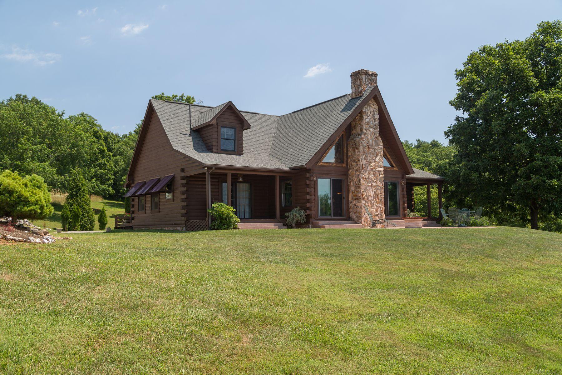 Частный односемейный дом для того Продажа на 291 Hunters Trail Floyd, Виргиния 24091 Соединенные Штаты