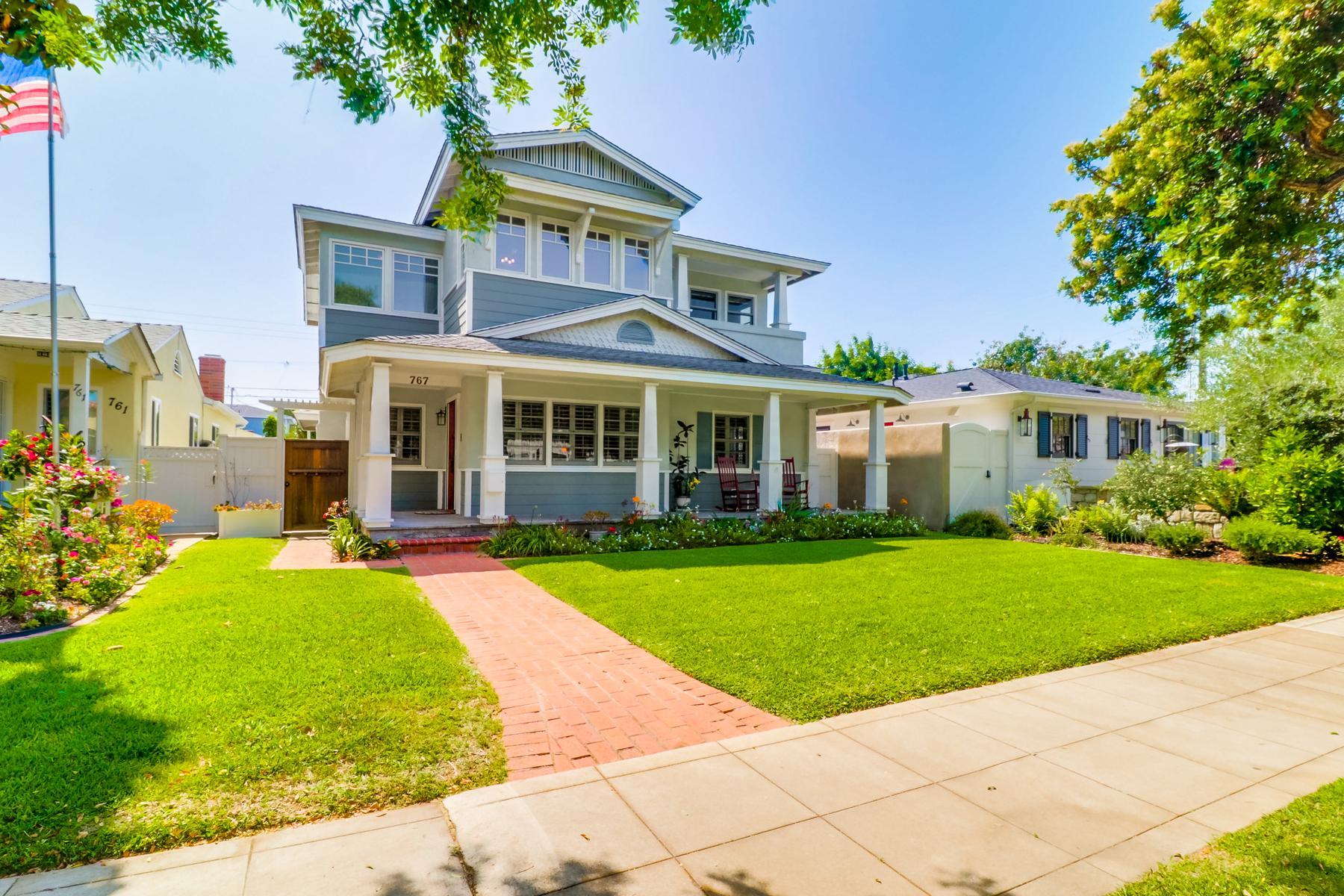 Single Family Homes for Sale at 767 I Avenue Coronado, California 92118 United States