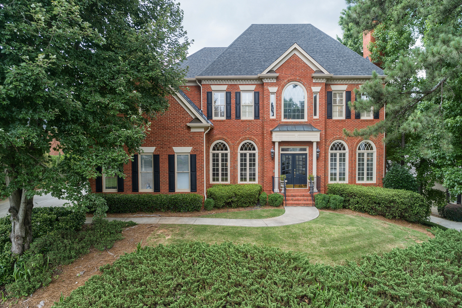 Single Family Home for Sale at Private Backyard Oasis In Johns Creek 1127 Ascott Valley Drive Johns Creek, Georgia 30097 United States
