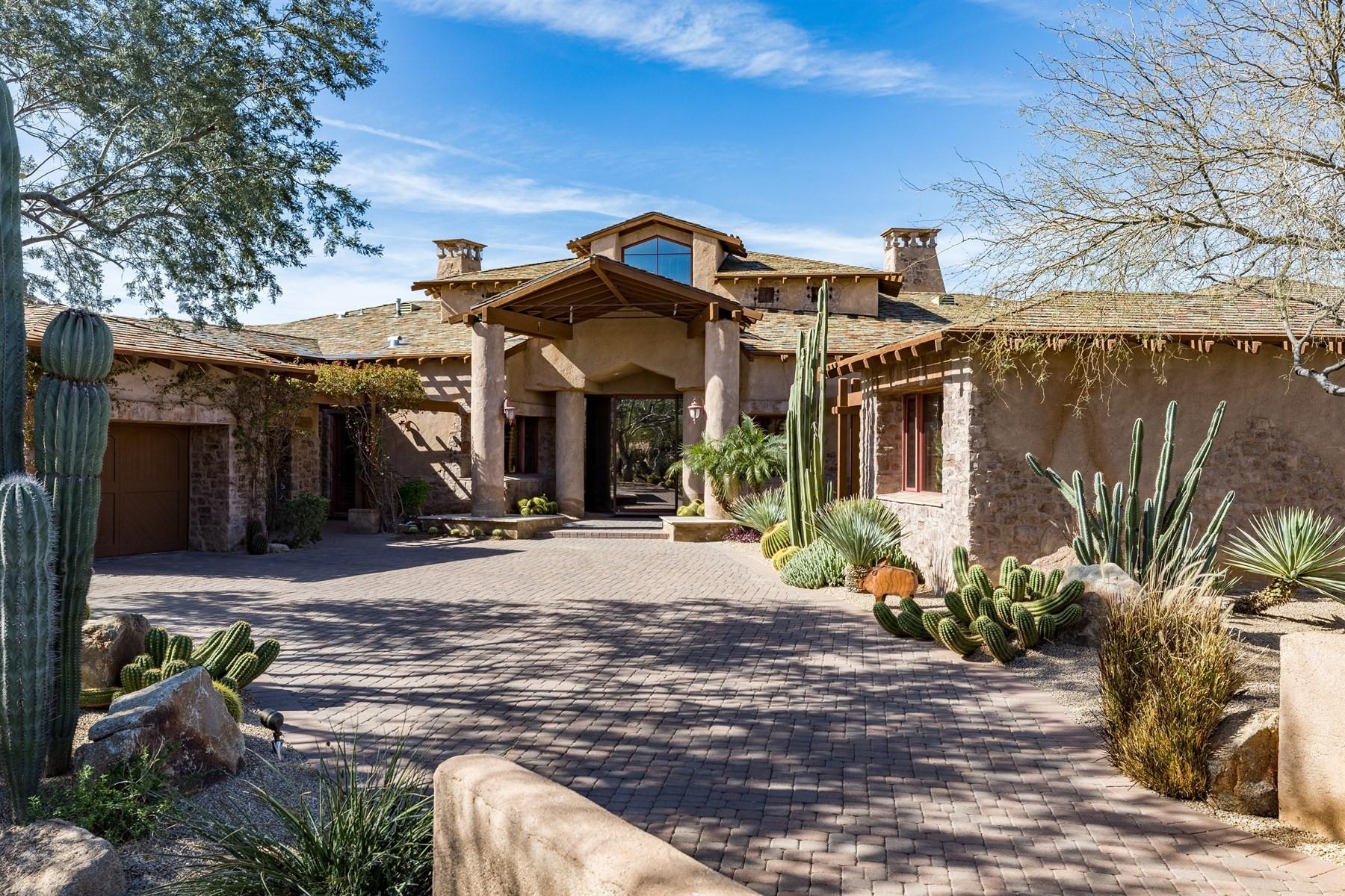 Villa per Vendita alle ore Turnkey, Furnished - LaScala Villa in world-renowned Estancia 27962 N 100TH PL 96 Scottsdale, Arizona, 85262 Stati Uniti