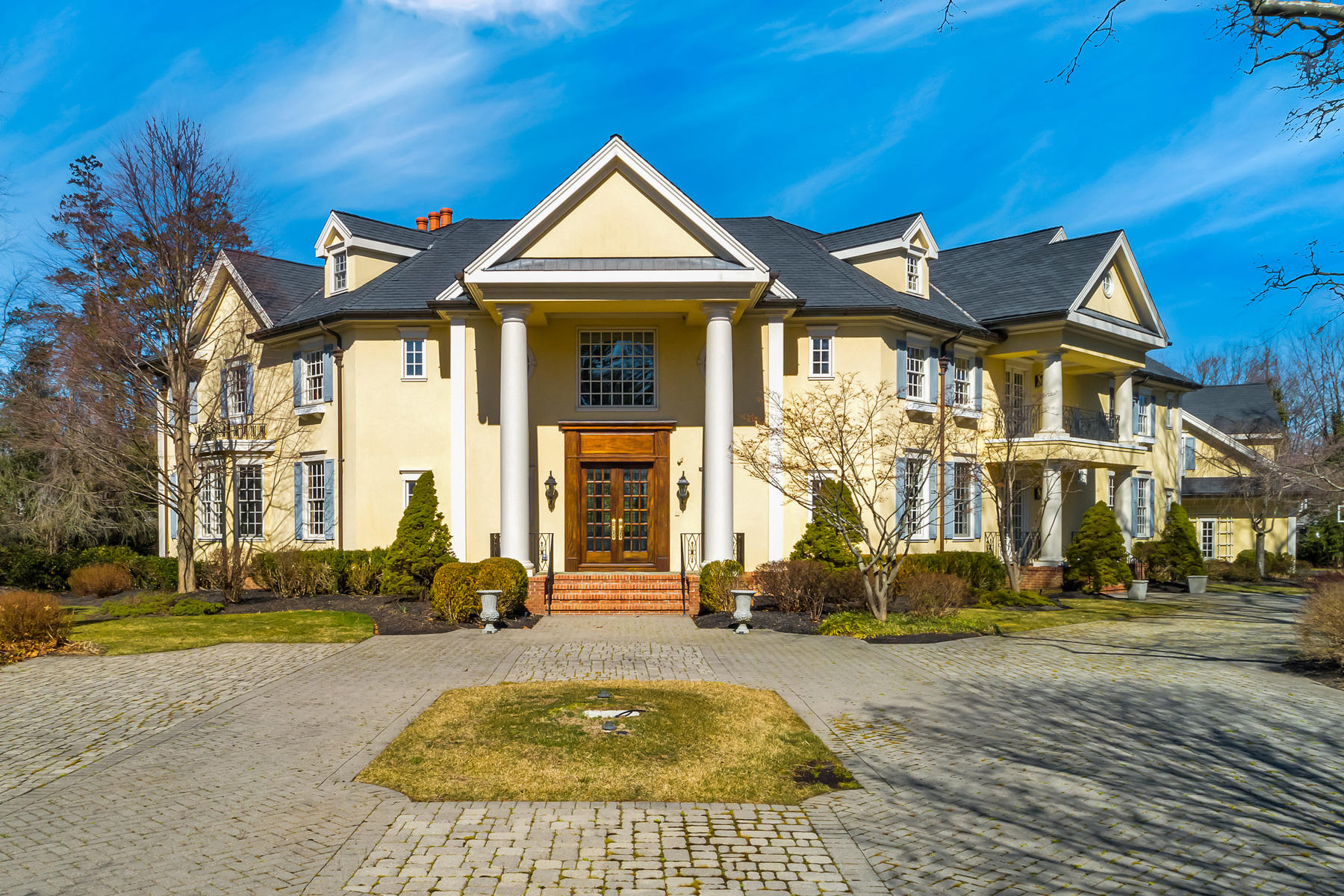 Single Family Homes for Sale at Grandeur Embodied 10 Belknap Lane Rumson, New Jersey 07760 United States