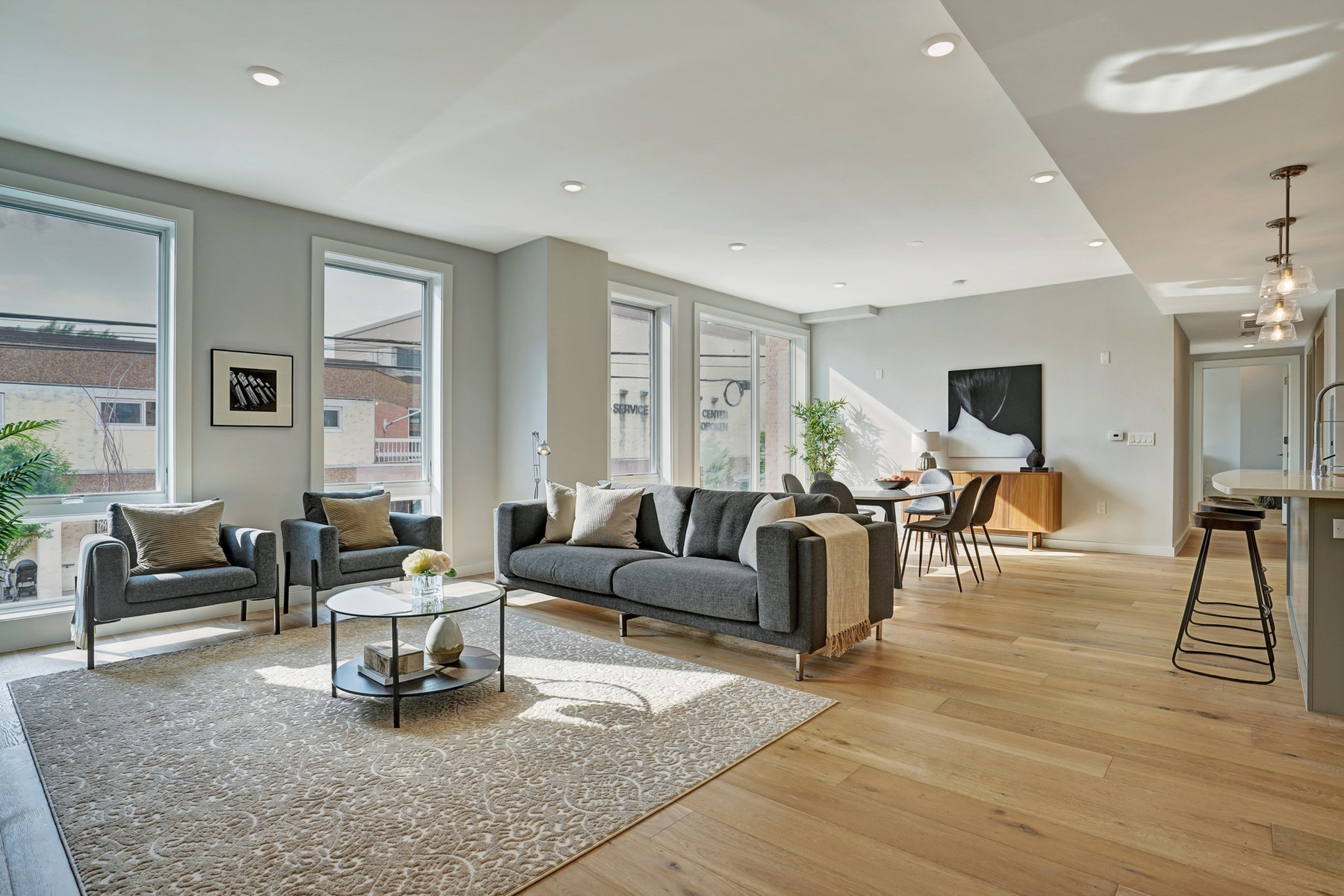 Condominiums for Sale at THE GRAND RESIDENCIES 115 Grand St #206 Hoboken, New Jersey 07030 United States