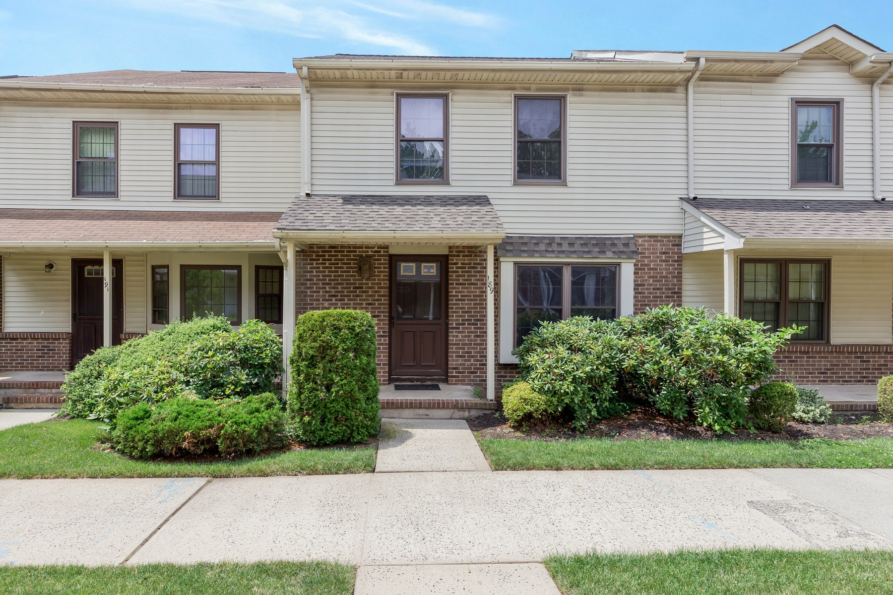 Condominium for Sale at Lovely Town Home 189 Durham Ave Metuchen, New Jersey 08840 United States