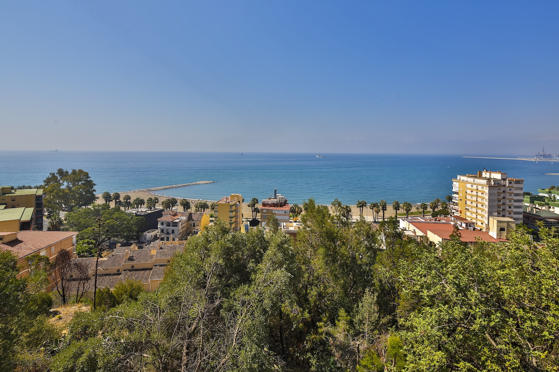 Single Family Home for Sale at Spectacular palatial castle with breathtaking sea and coastline views. Malaga, Andalucia, Spain
