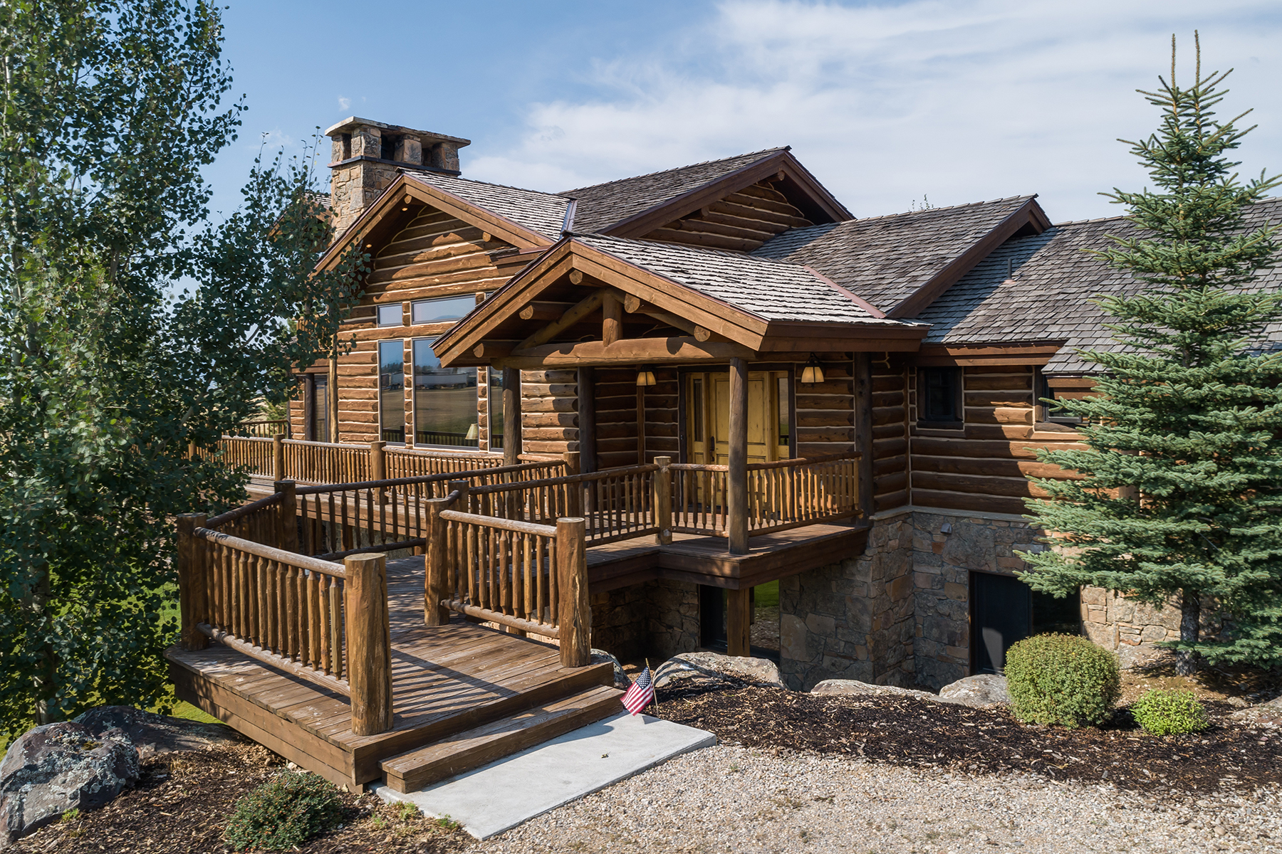 Single Family Homes for Active at Unmatched Teton Views 4608 Royal Dr Tetonia, Idaho 83452 United States