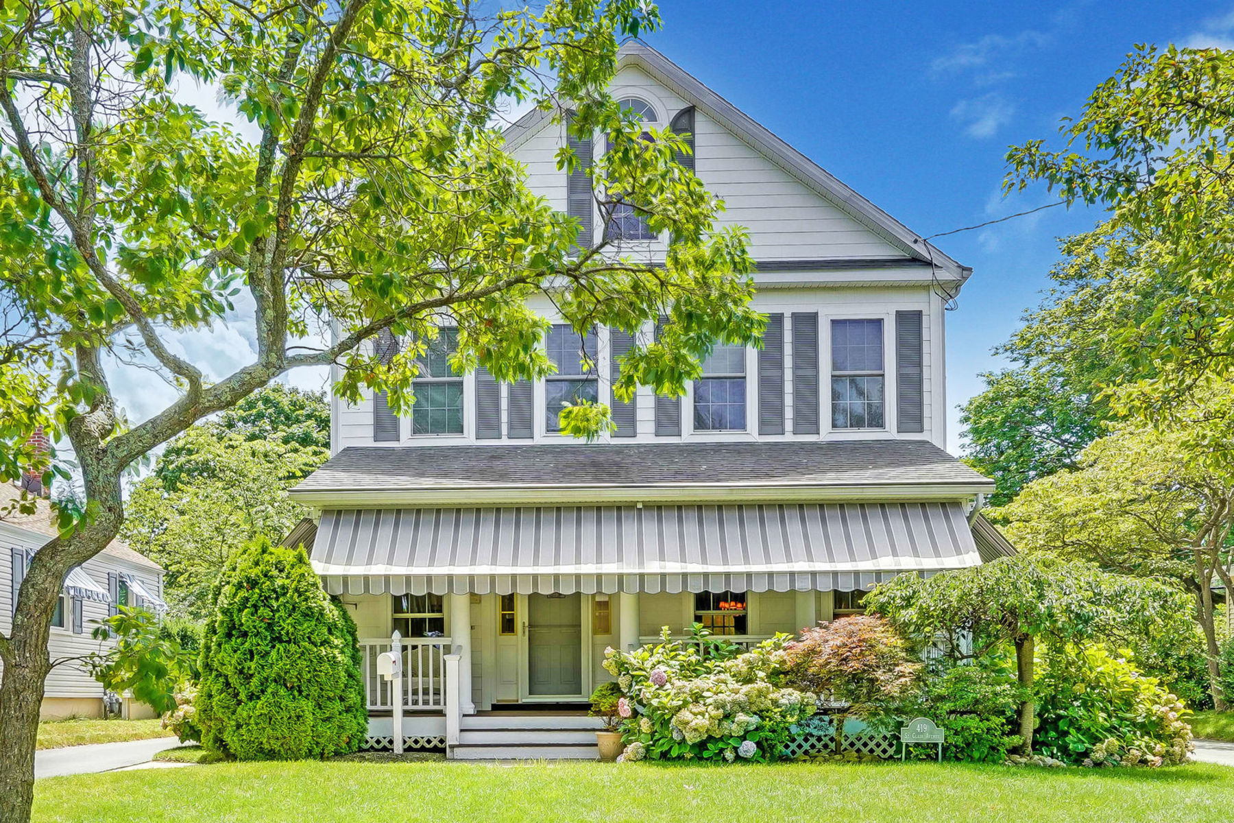 Single Family Home for Sale at Charming Spring Lake Victorian 419 Saint Clair Avenue, Spring Lake, New Jersey 07762 United States