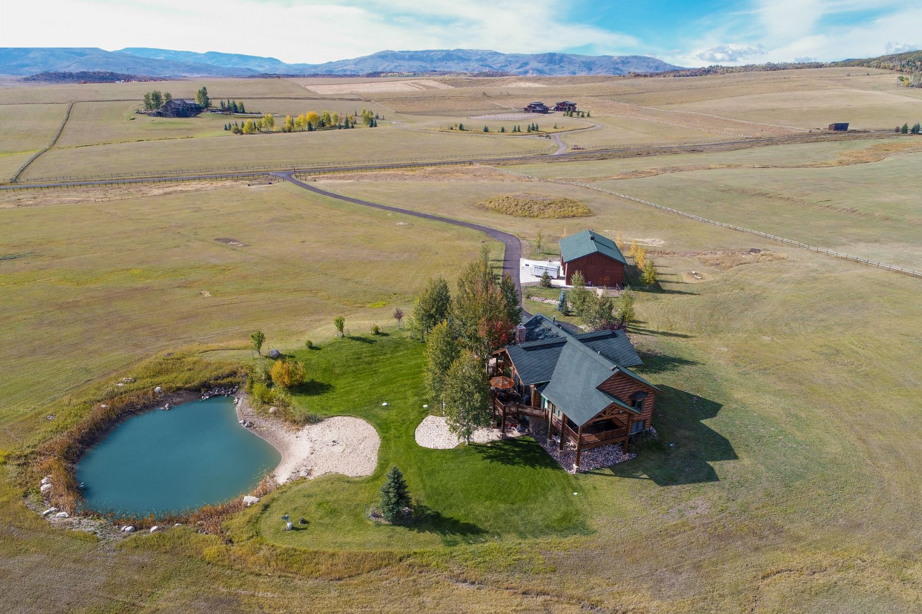 Single Family Home for Sale at Emerald Meadows Home with Stunning Views 33355 Emerald Meadows Drive Steamboat Springs, Colorado 80477 United States