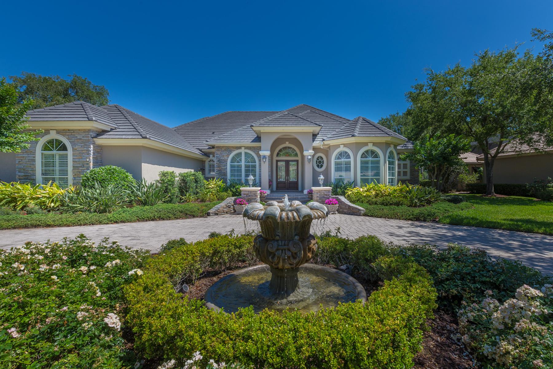 独户住宅 为 销售 在 114 Muirfield Drive 蓬特韦德拉海滩, 佛罗里达州, 32082 美国