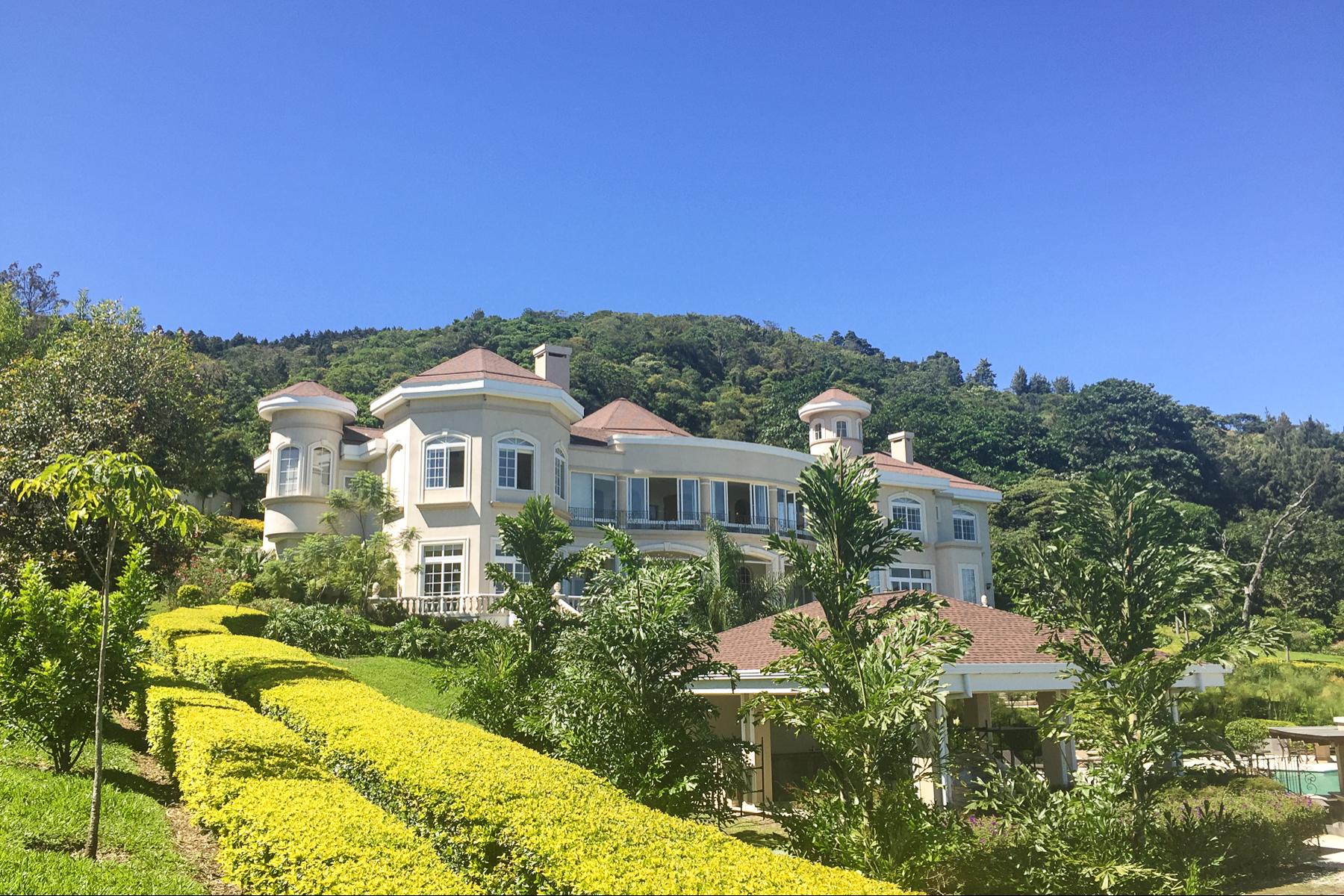 Single Family Homes for Sale at Escazú Mountain Mansion Escazu, San Jose Costa Rica