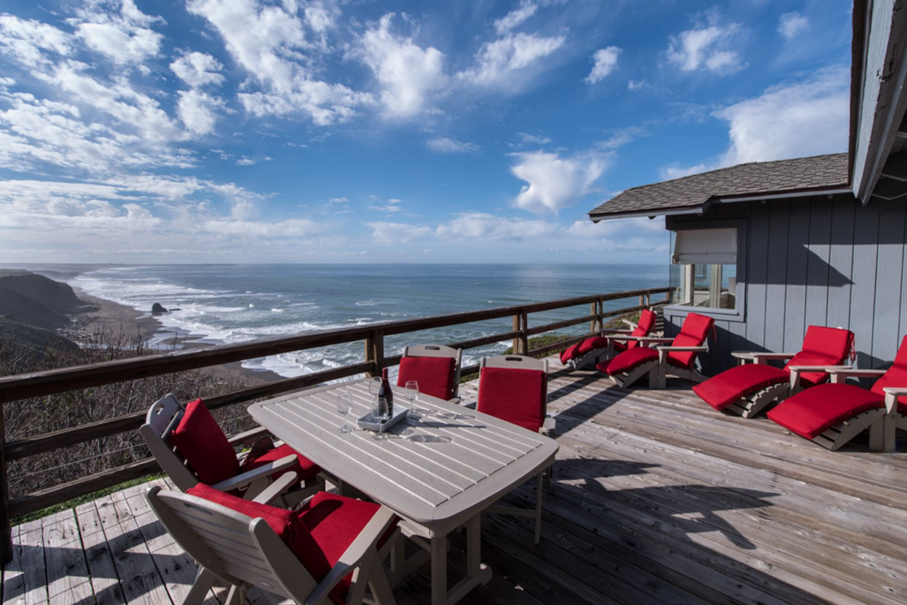 Single Family Homes for Sale at Stunning Ocean View Home, The Prevo 15020 Navarro Way Manchester, California 95459 United States