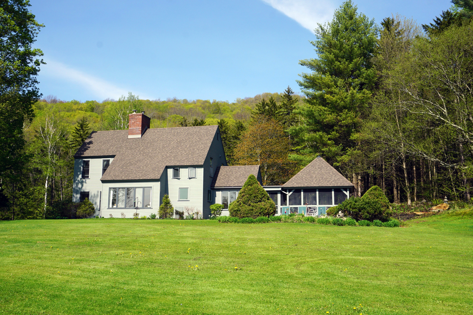 single family homes for Sale at CHITTENDEN - 14.2 ACRES WITH AMAZING VIEWS 26 German Hill Farm Rd Chittenden, Vermont 05737 United States