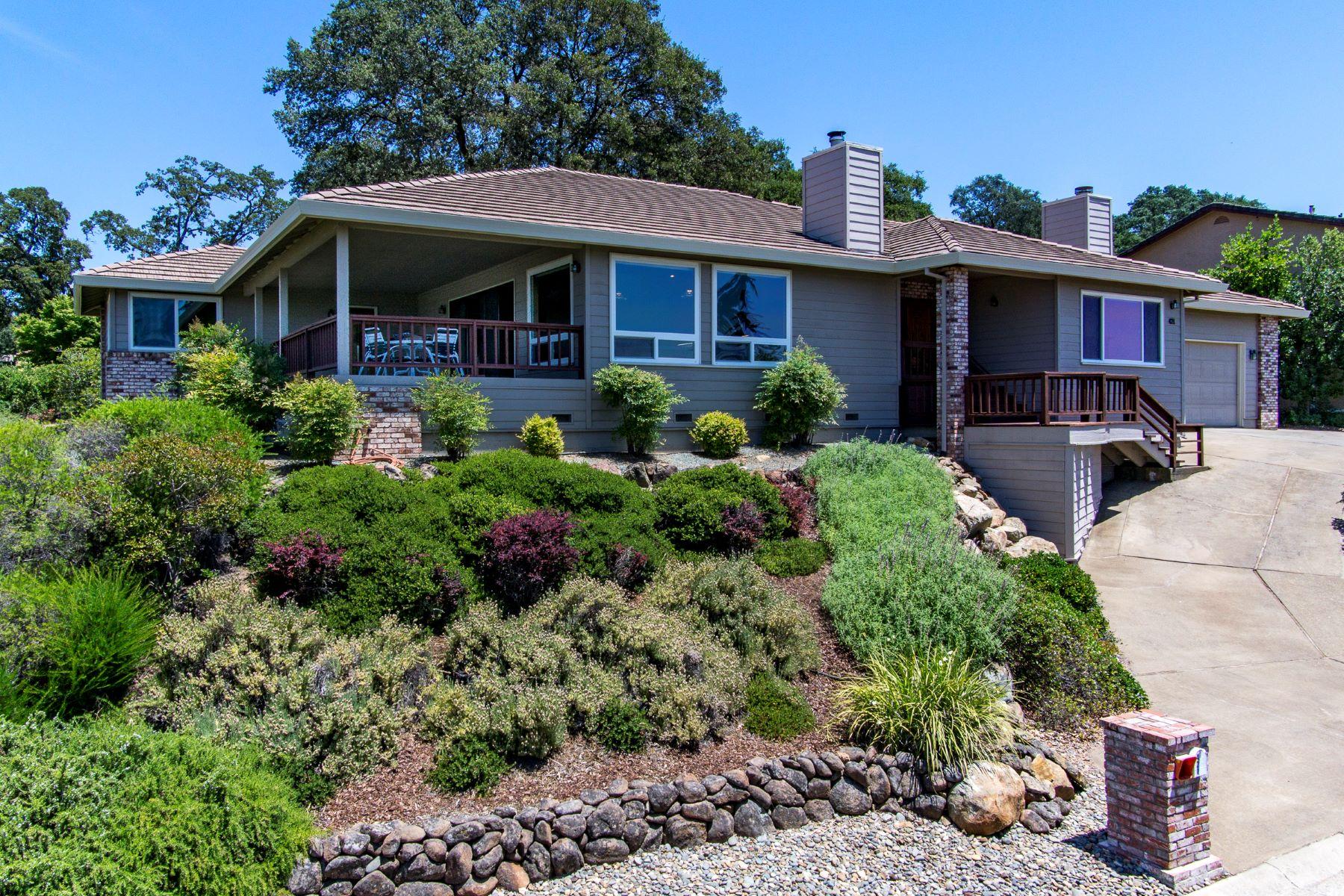 Maison unifamiliale pour l Vente à Amazing Folsom Lake Views 421 Powers Drive El Dorado Hills, Californie 95762 États-Unis