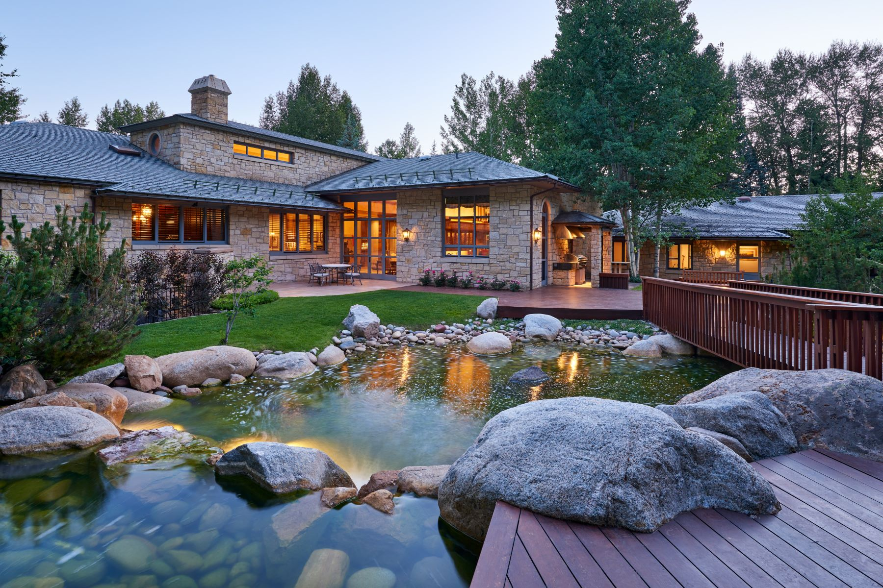 Single Family Homes for Sale at Magnificent Aspen Estate 711 Willoughby Way, Aspen, Colorado 81611 United States