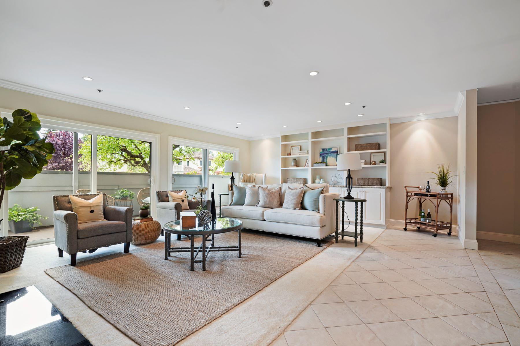 Condominium for Active at Sophisticated Condo with Abundant Natural Light 230 W 5th Avenue #103 San Mateo, California 94402 United States