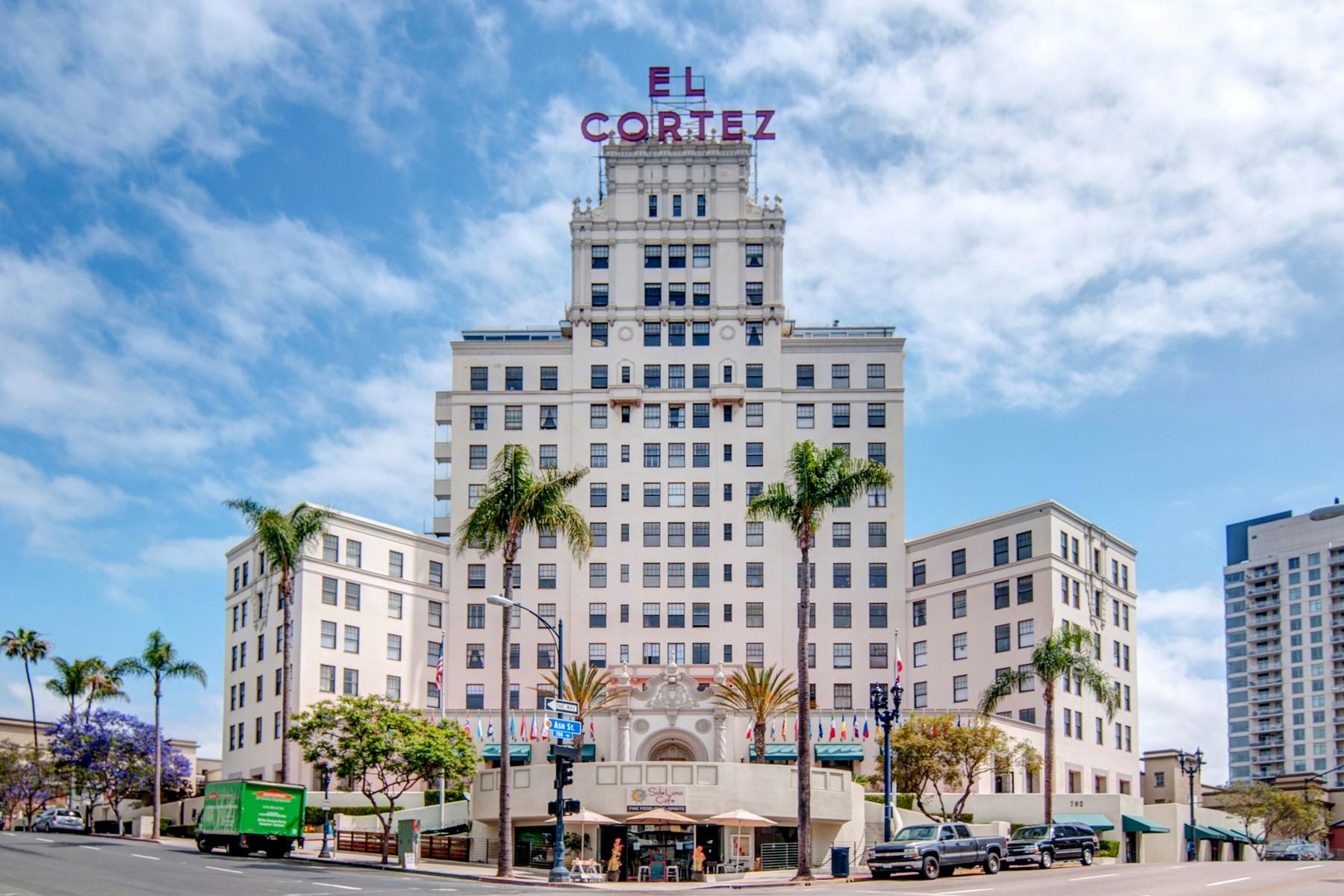 Condominio por un Venta en El Cortez 702 Ash St 800 San Diego, California, 92101 Estados Unidos