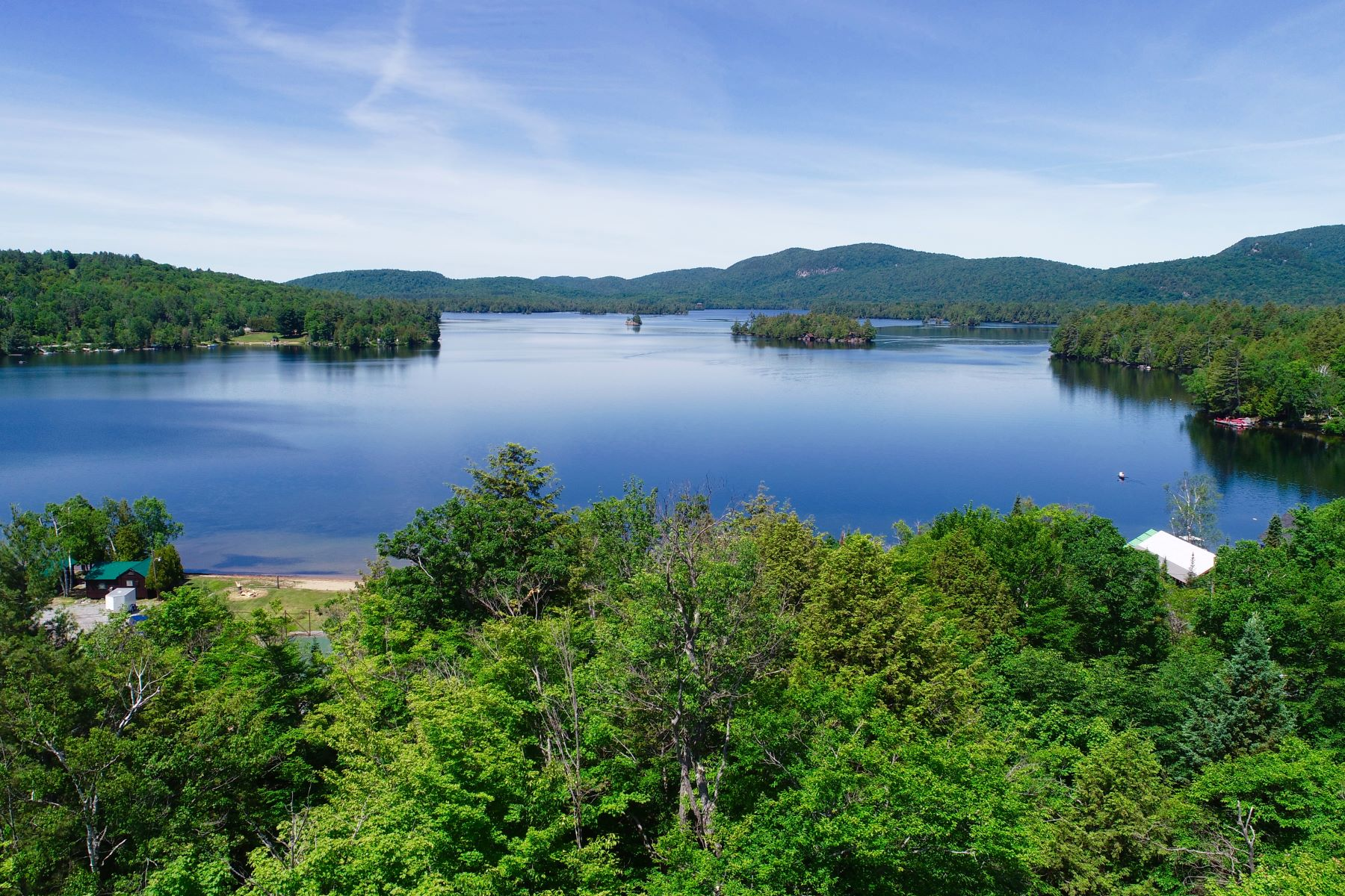 Land for Sale at Blue Mountain Lake Building Lot 132 Cedar La Indian Lake, New York 12812 United States