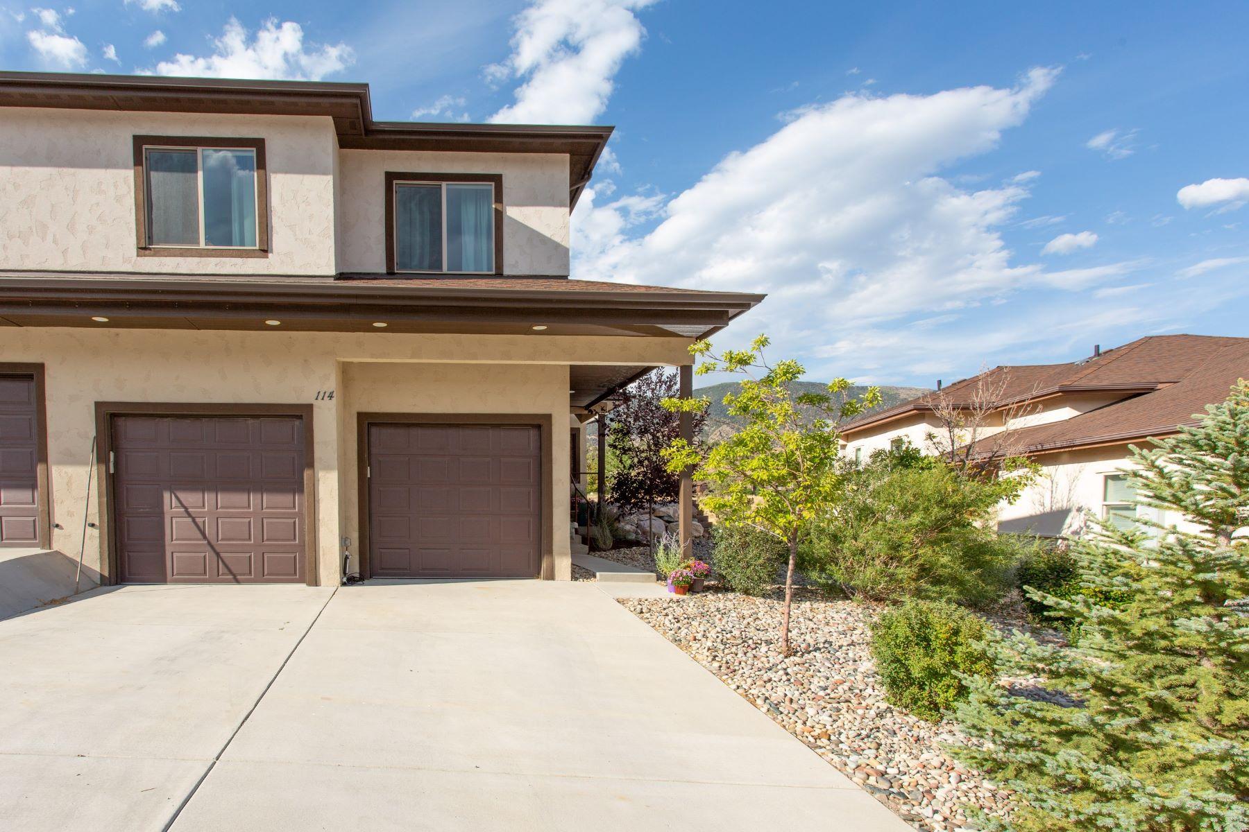 Duplex for Active at Low Maintenance, High-end Home 114 Castle Ridge Drive New Castle, Colorado 81647 United States