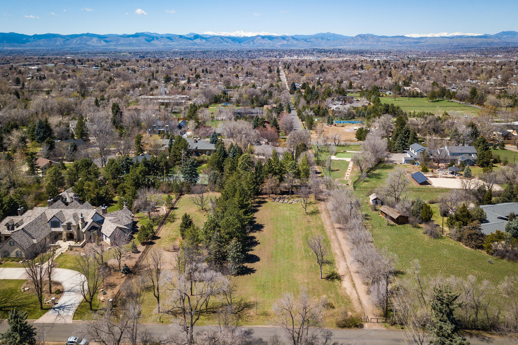 Land for Sale at Gorgeous Park-Like 1.46 Acre Development Site in the Heart of Old Cherry Hills 4525 S Lafayette St Englewood, Colorado 80113 United States