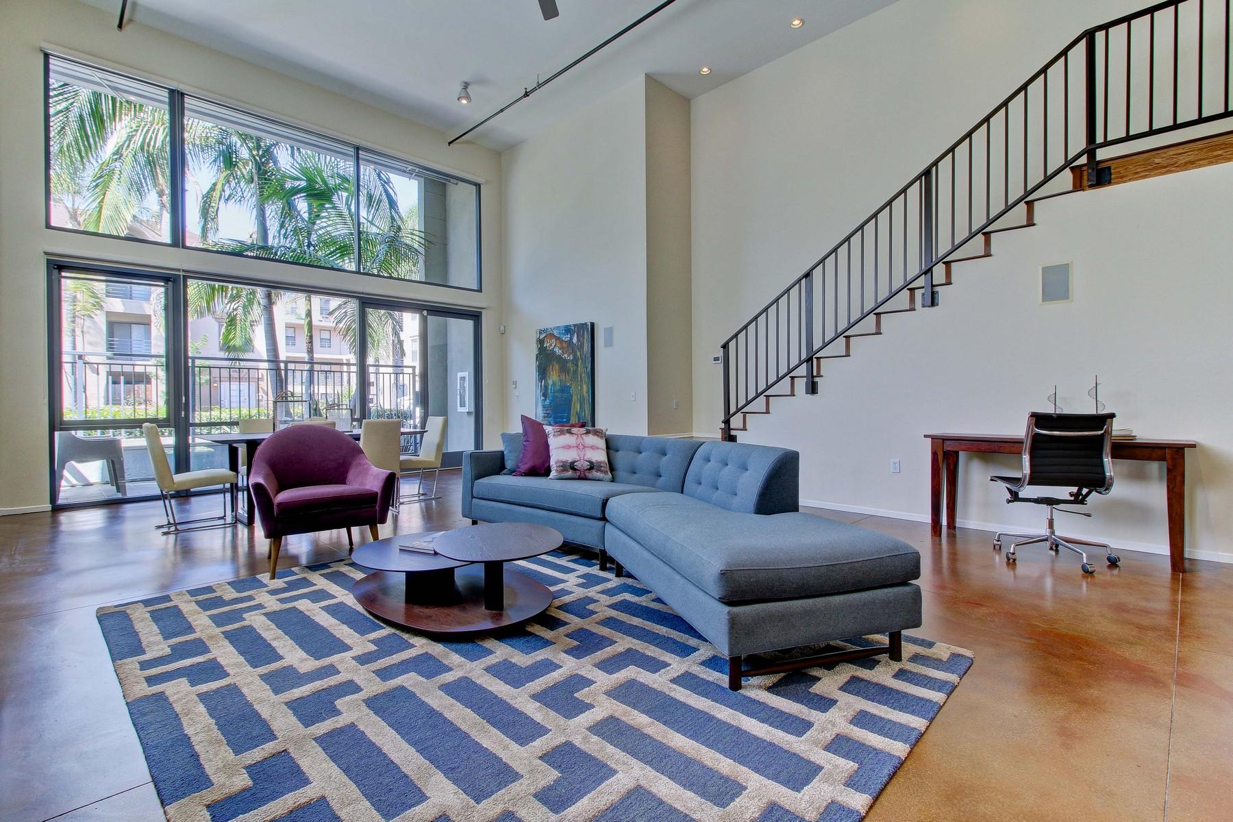 Appartement en copropriété pour l Vente à Montana Lofts 4055 3rd Avenue 101 Hillcrest, San Diego, Californie, 92103 États-Unis