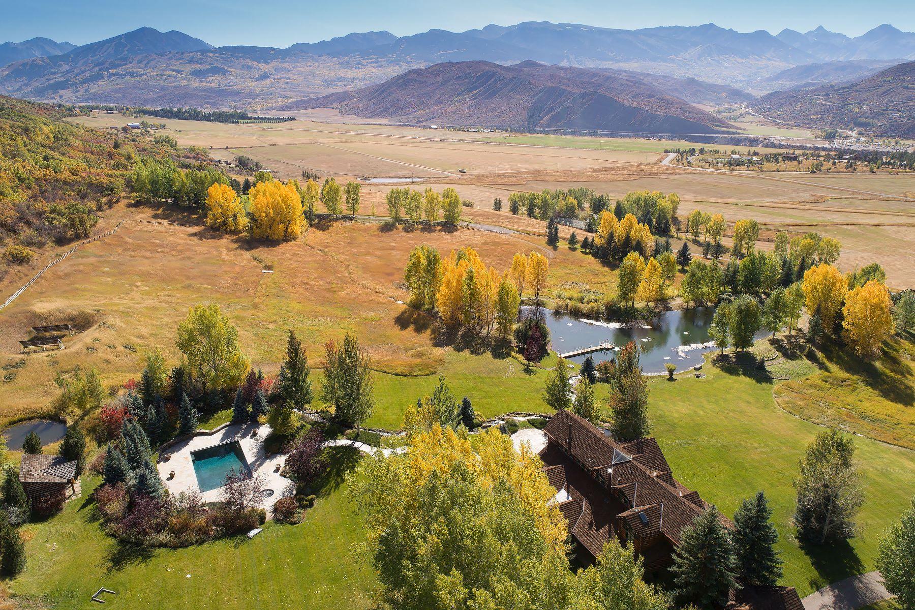 Farm / Ranch / Plantation for Sale at Classic Colorado Getaway 200 Yellow Fox Lane Aspen, Colorado 81611 United States