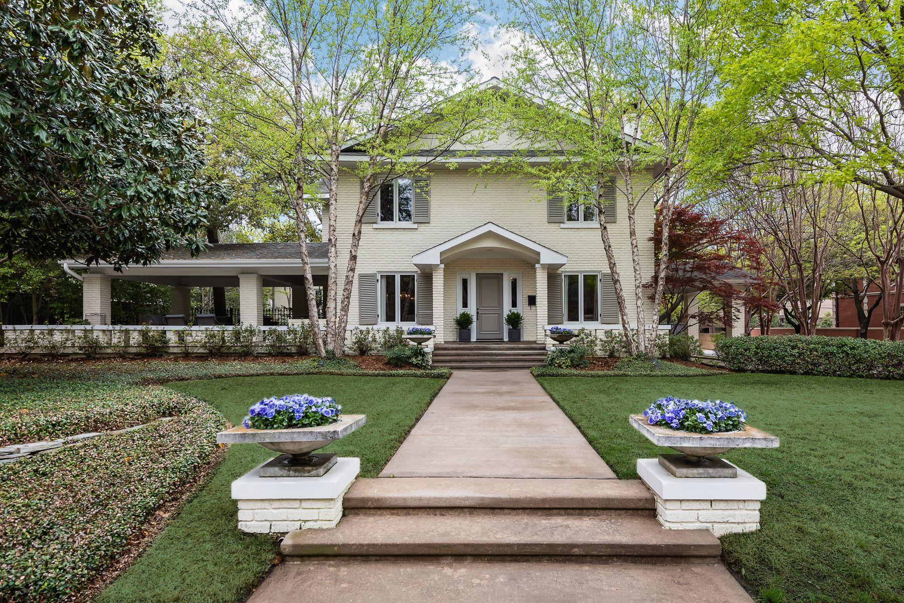 Property للـ Sale في Historic Old Highland Park Home 3517 Gillon Avenue, Highland Park, Texas 75205 United States