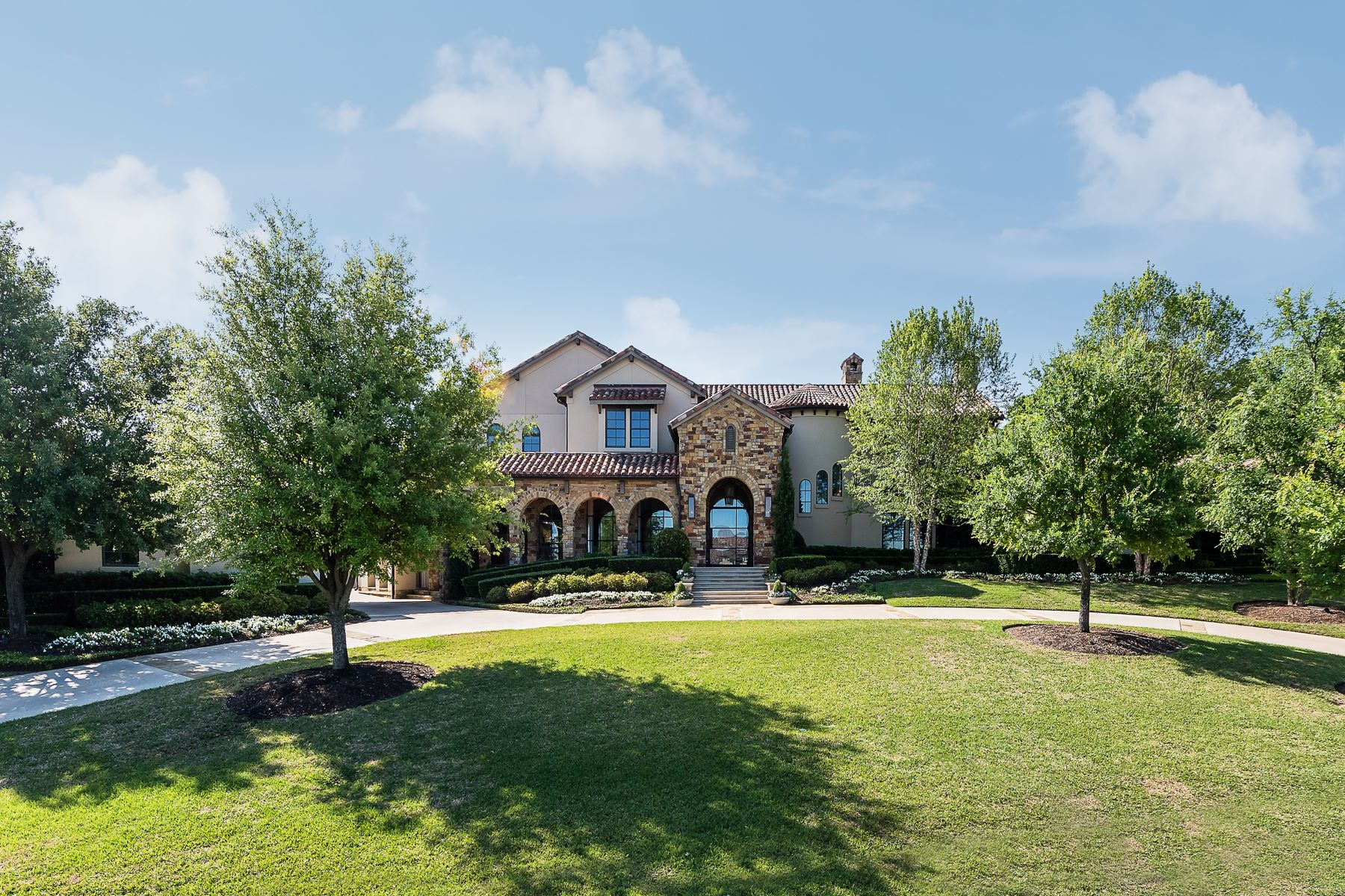 Single Family Homes for Sale at Work of Art Inside the Gated Golf Community of Vaquero 2211 Vaquero Estates Boulevard Westlake, Texas 76262 United States