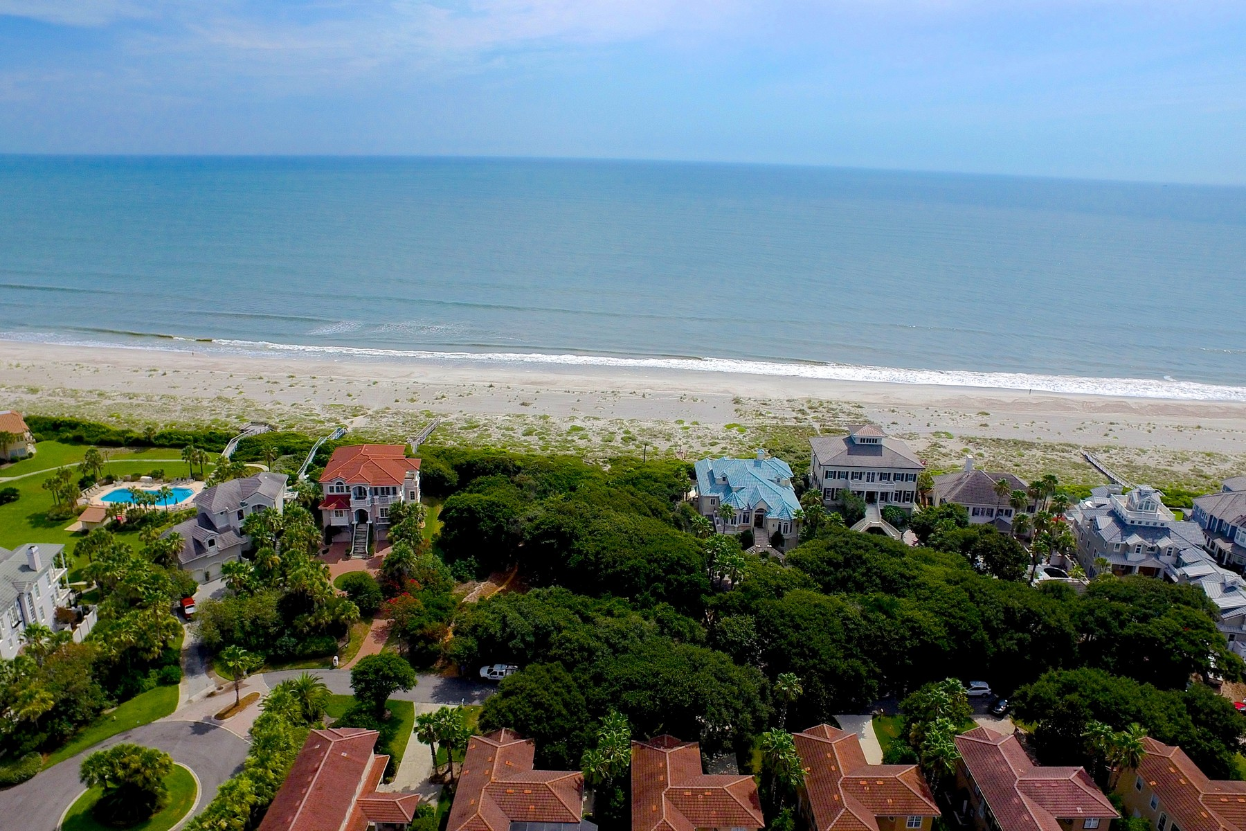 Land for Active at Rare Oceanfront Lot on Amelia Island 8200 Residence Court Amelia Island, Florida 32034 United States